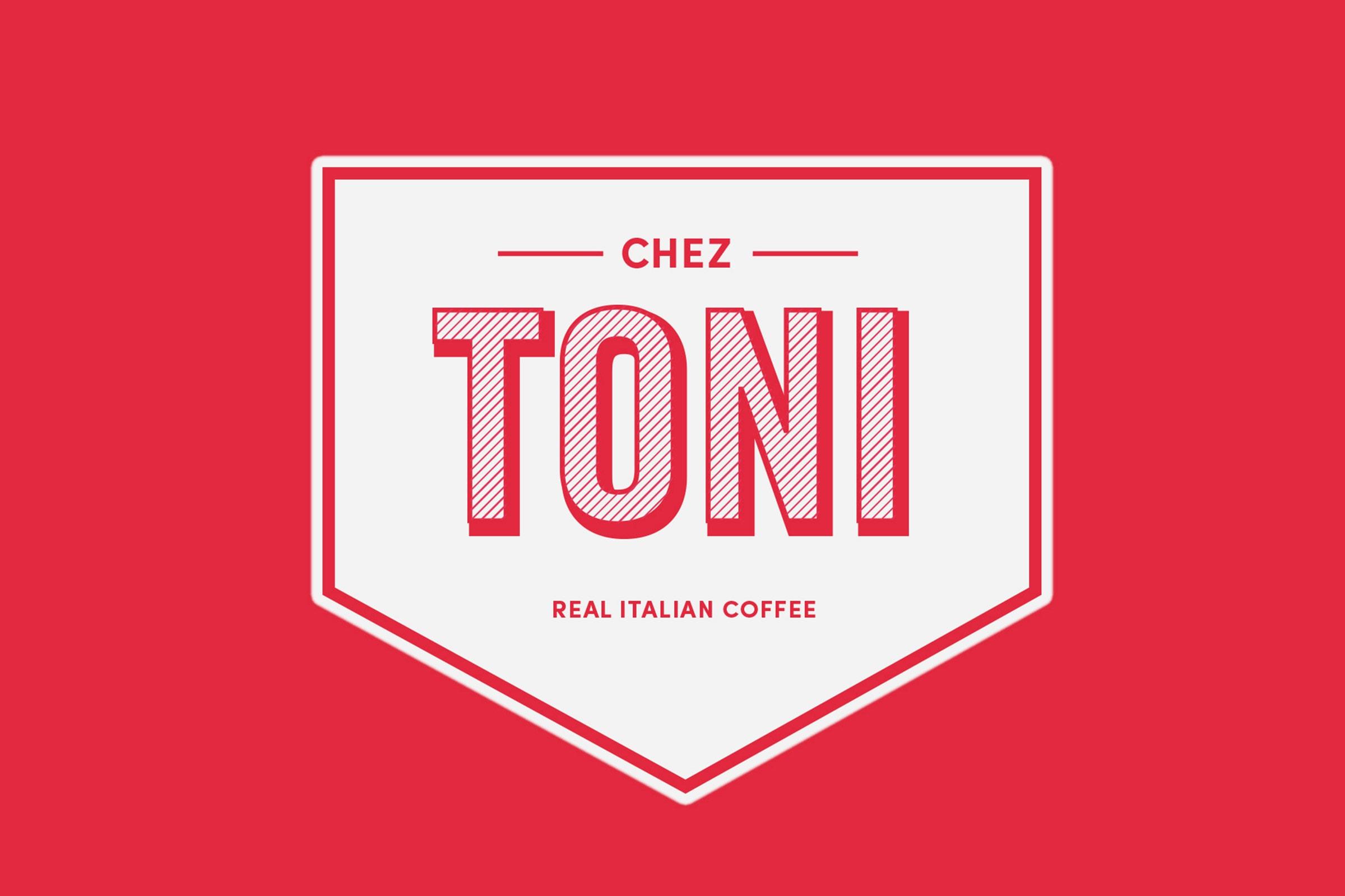 chez toni, speisekarte, vodafone, vodafone campus, düsseldorf, restaurant branding, logo