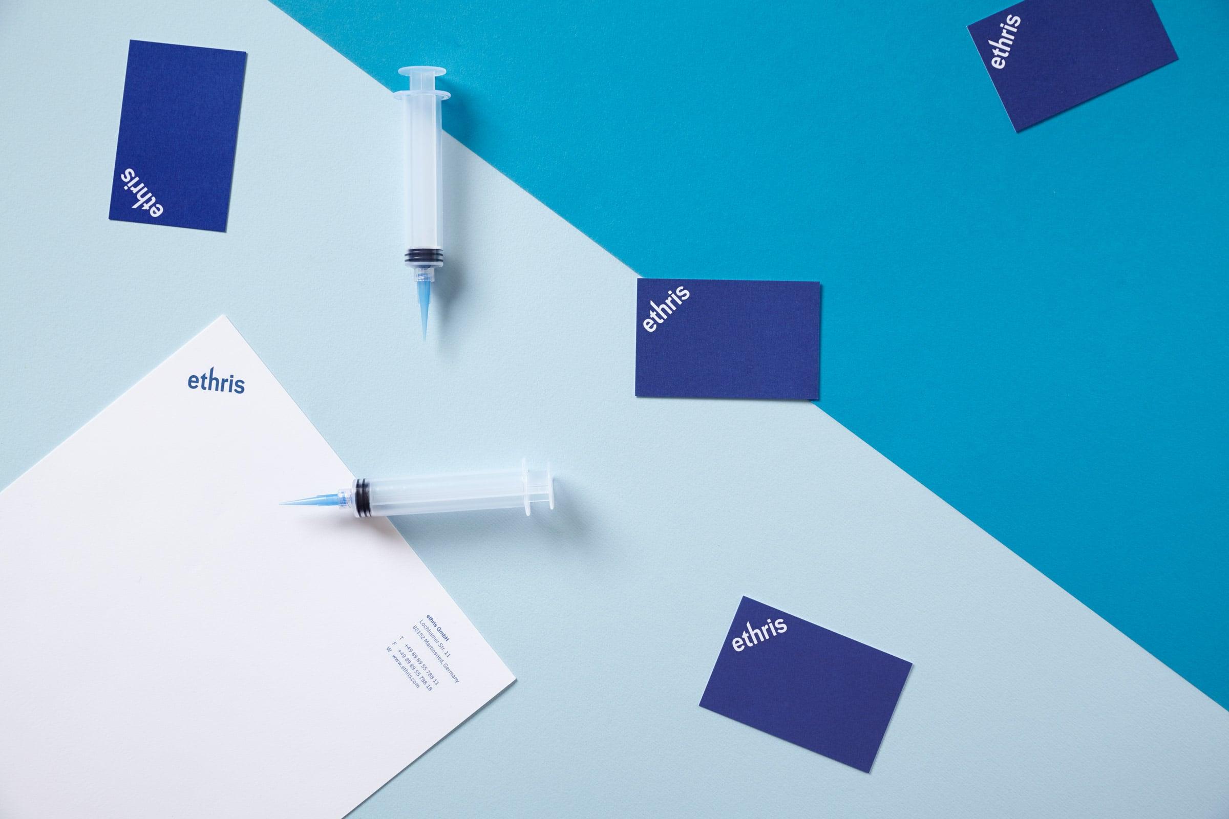 corporate design, messenger RNA, ipad, website