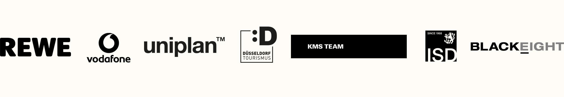 Rewe, Vodafone, Marketing Tourismus Düsseldorf