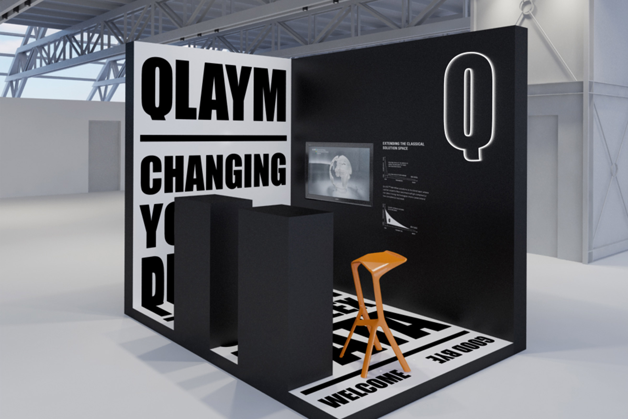 messestand, predictive medicine, big date, change perspective, corporate design