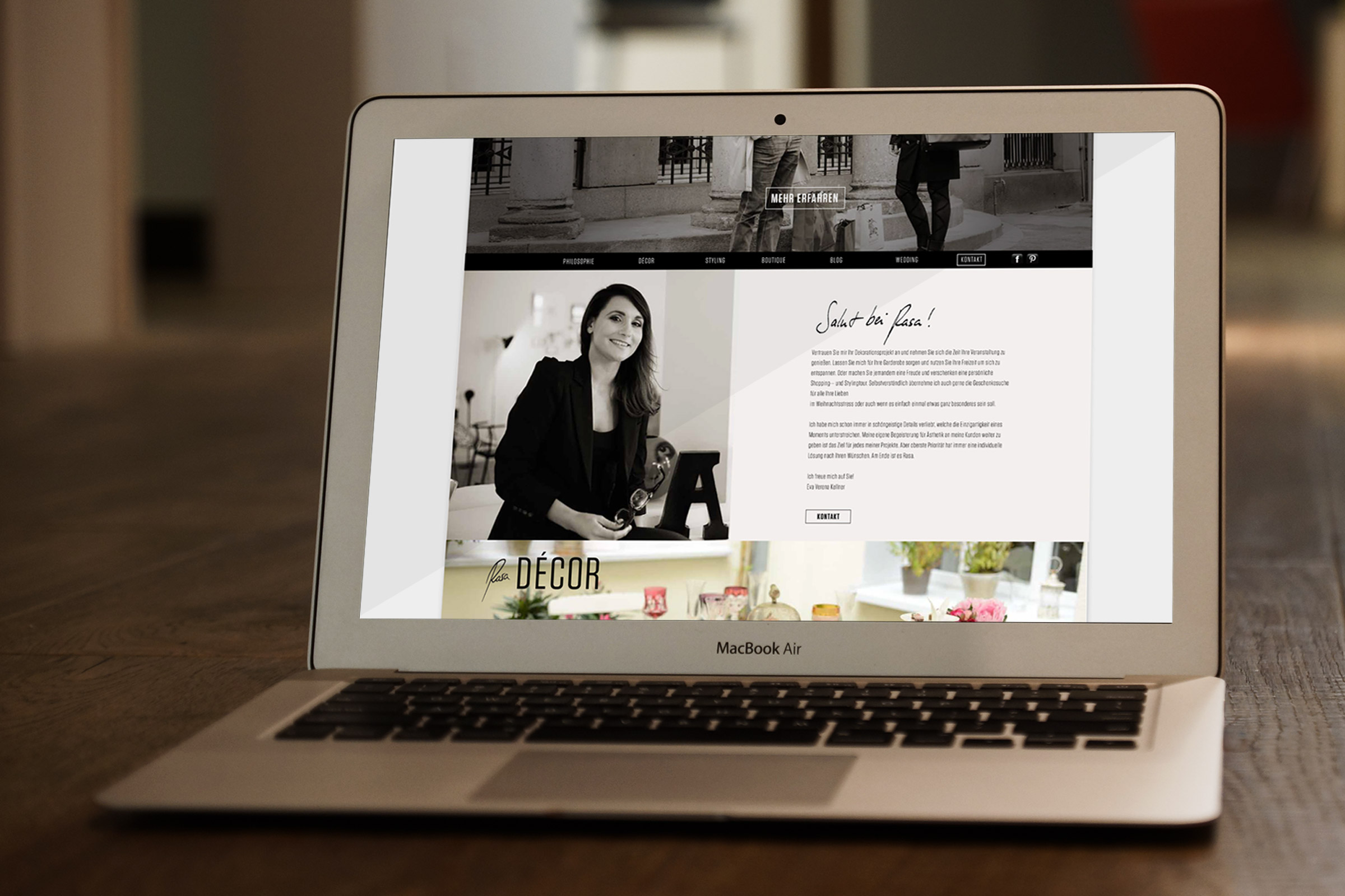 website, webdesign, corporate design, verena kellner