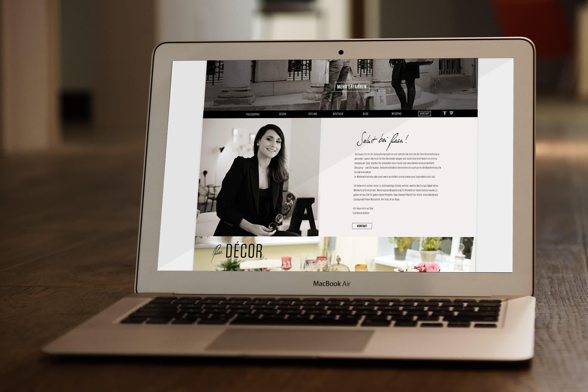 website, webdesign, corporate design, verena kellner
