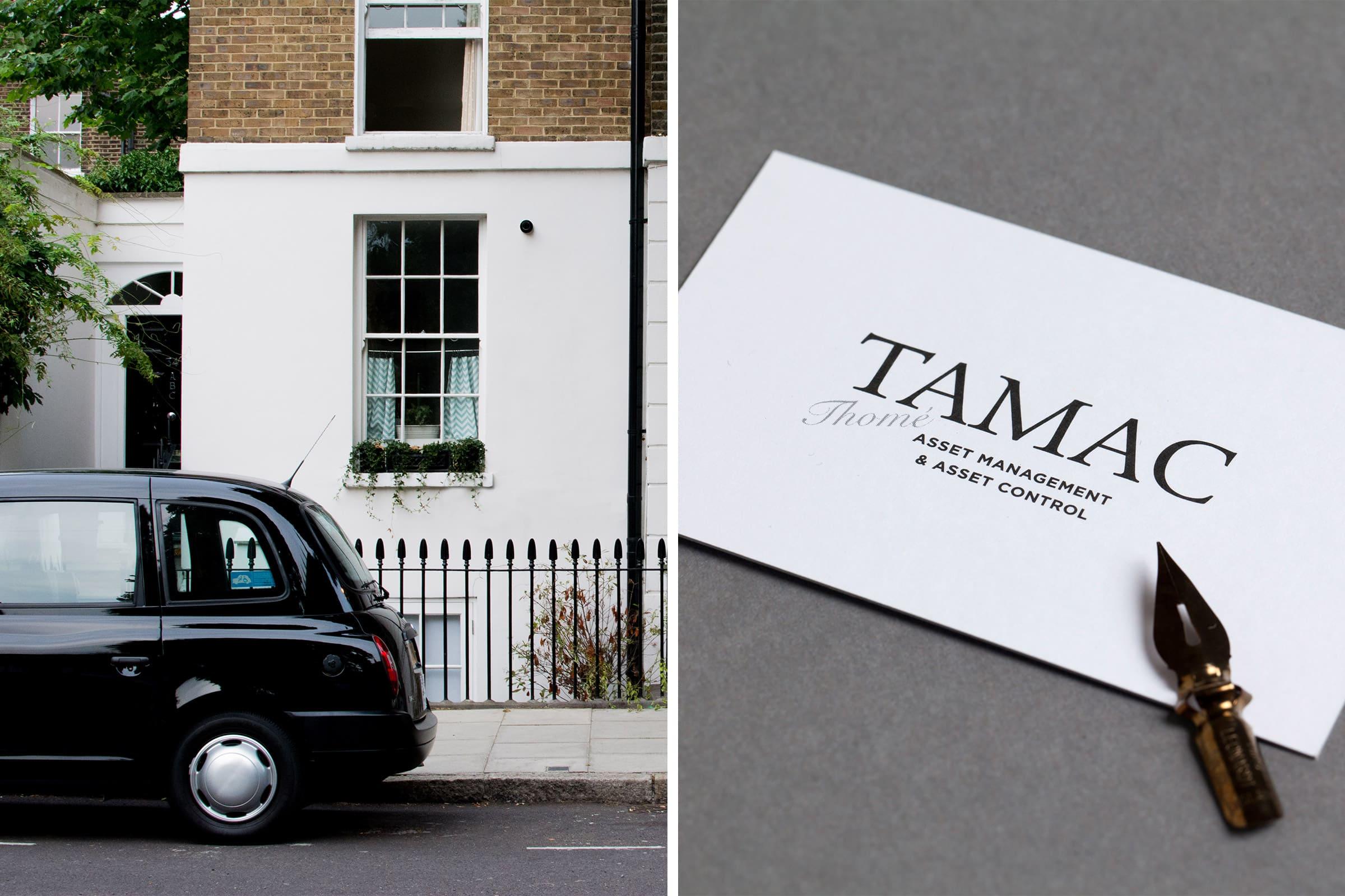 private wealth management, familienvermögen, london, business card