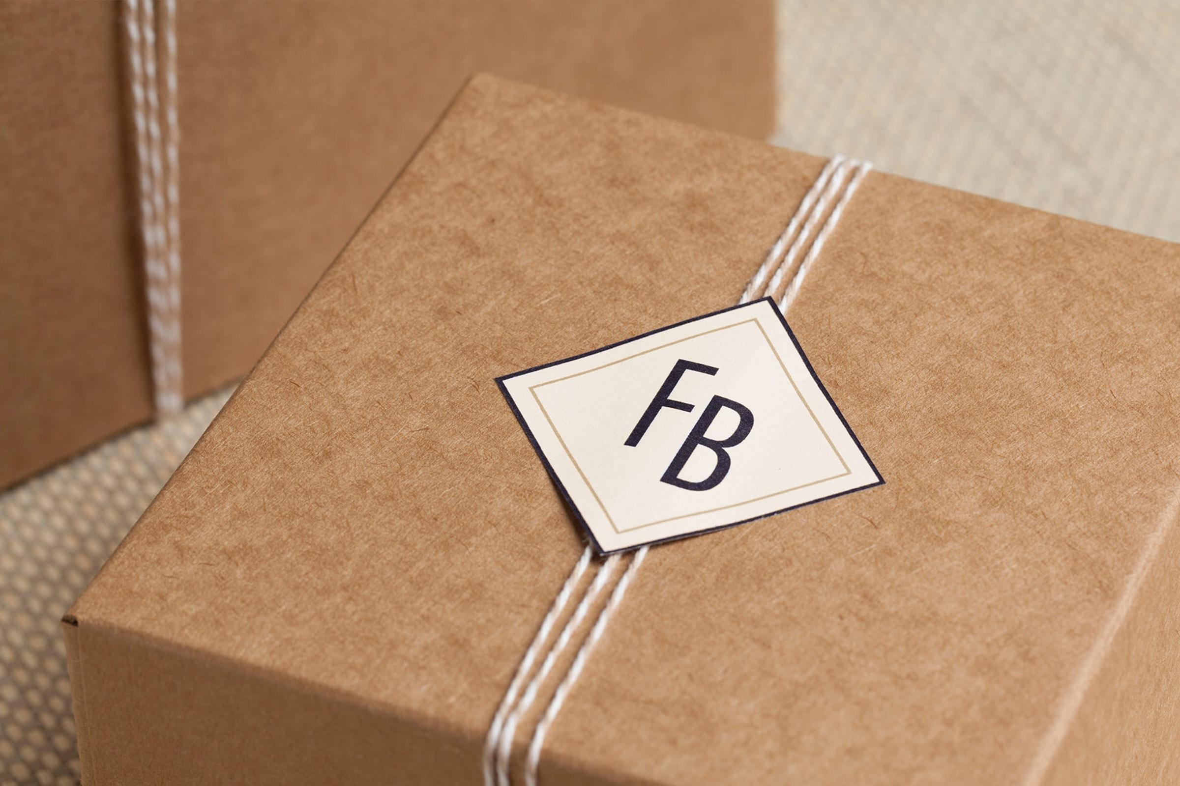 Cafè Ferdinand, Vodafone, Hamburg, Jungfernstieg, Packaging, Restaurant Branding, Box