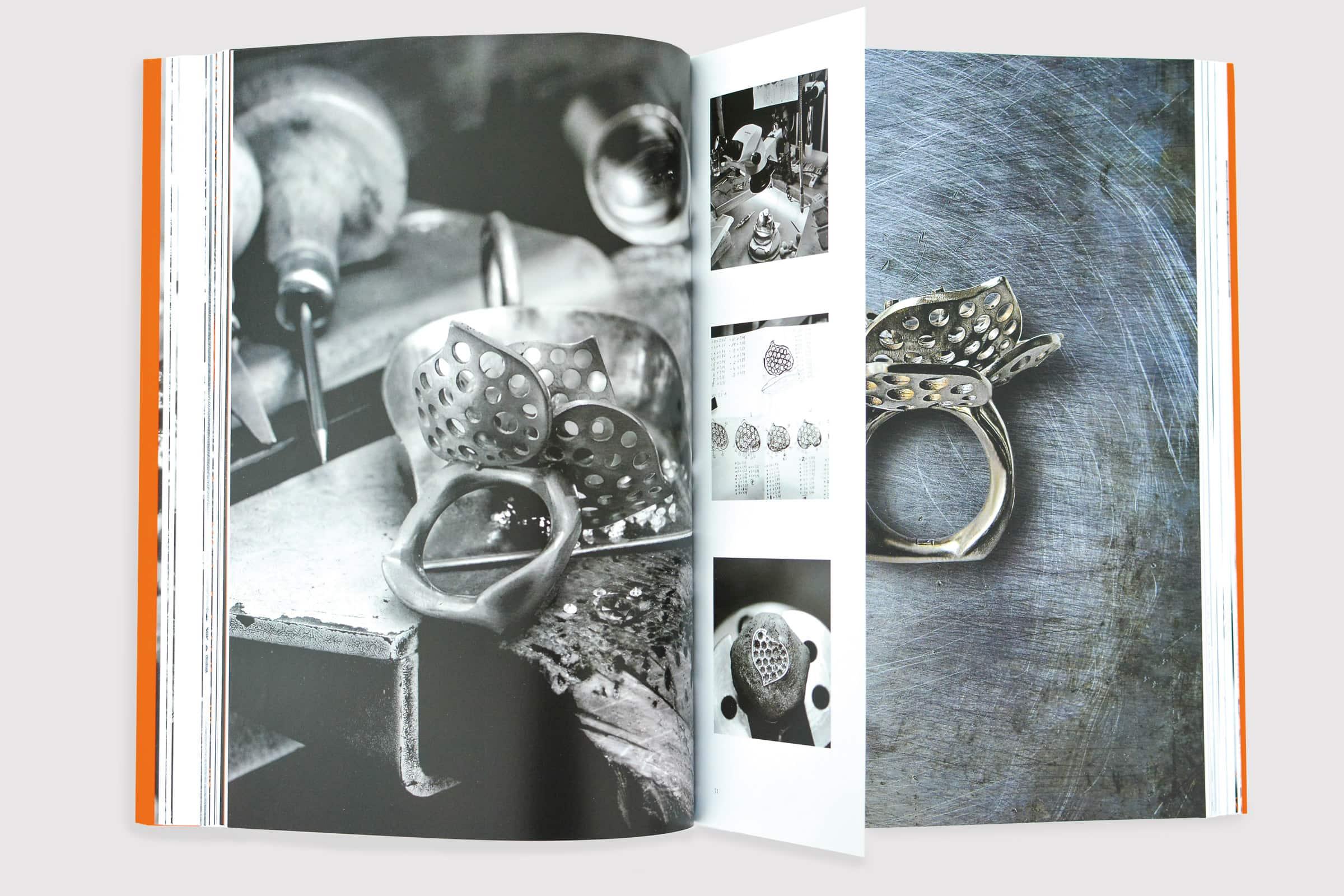 Johannes Hundt, Schmuckmanufaktur, Katalog, Design, Editorial Design