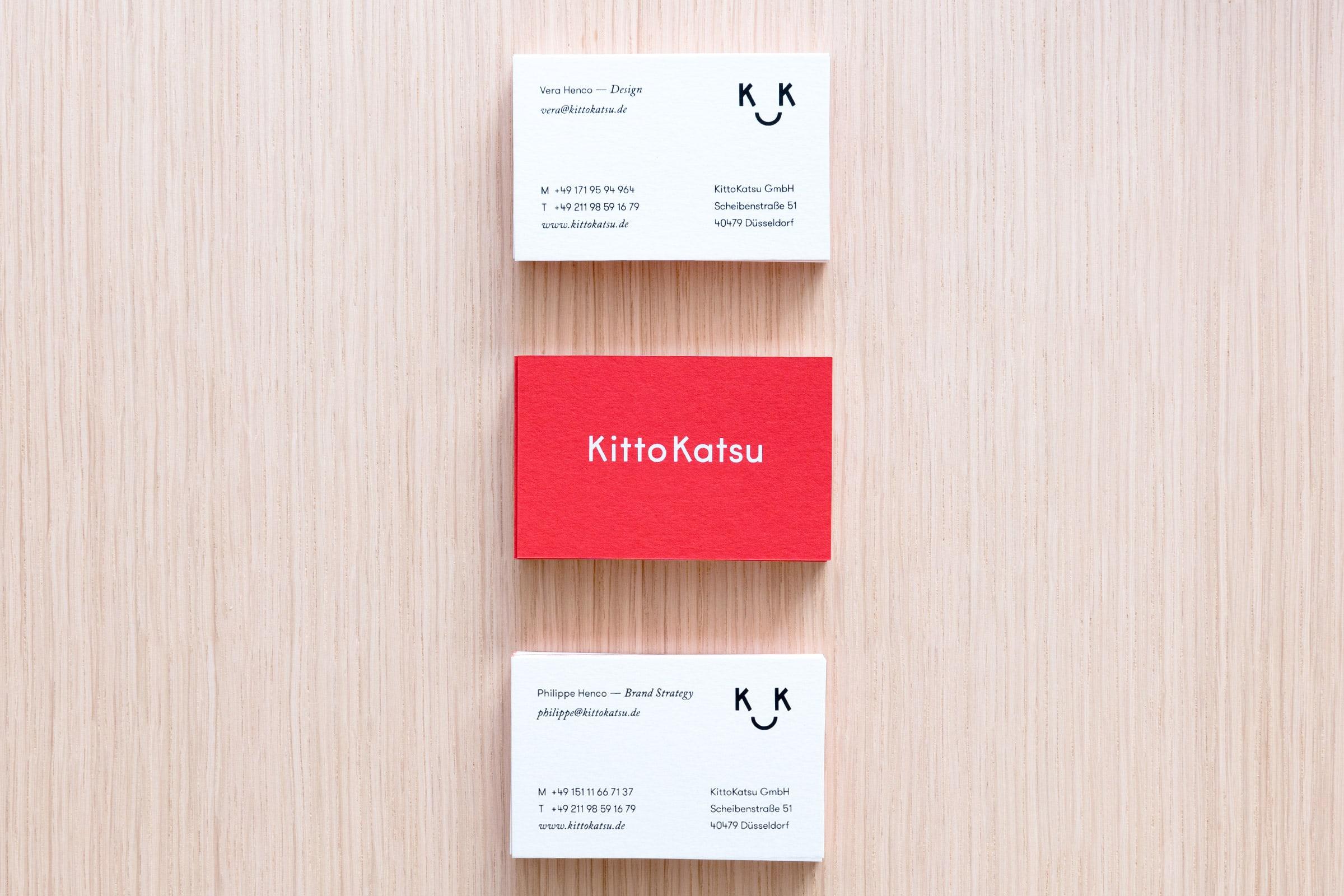 KittoKatsu, Logo, Visitenkarte