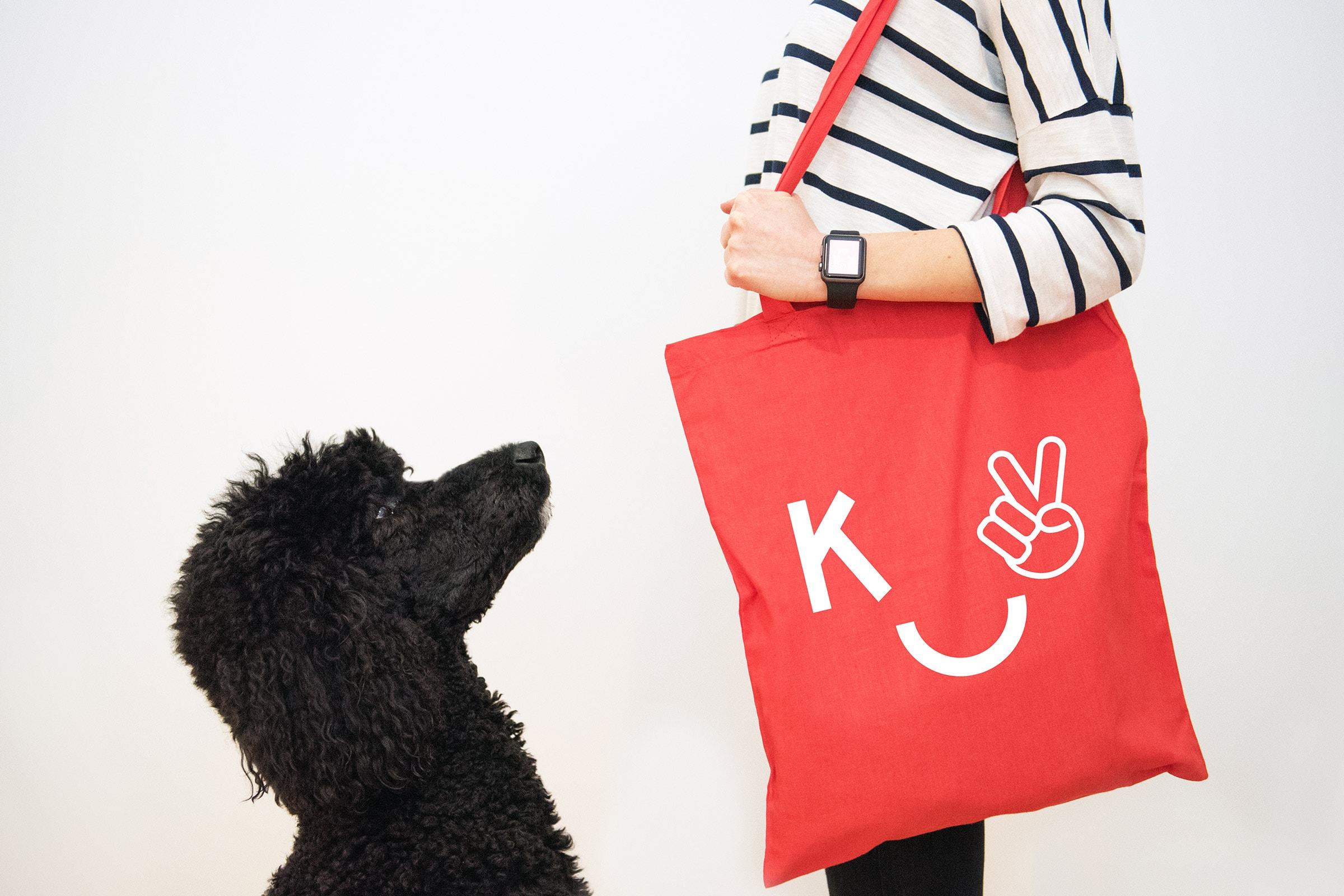 Ando, Pudel, Tote Bag, Logo, KittoKatsu