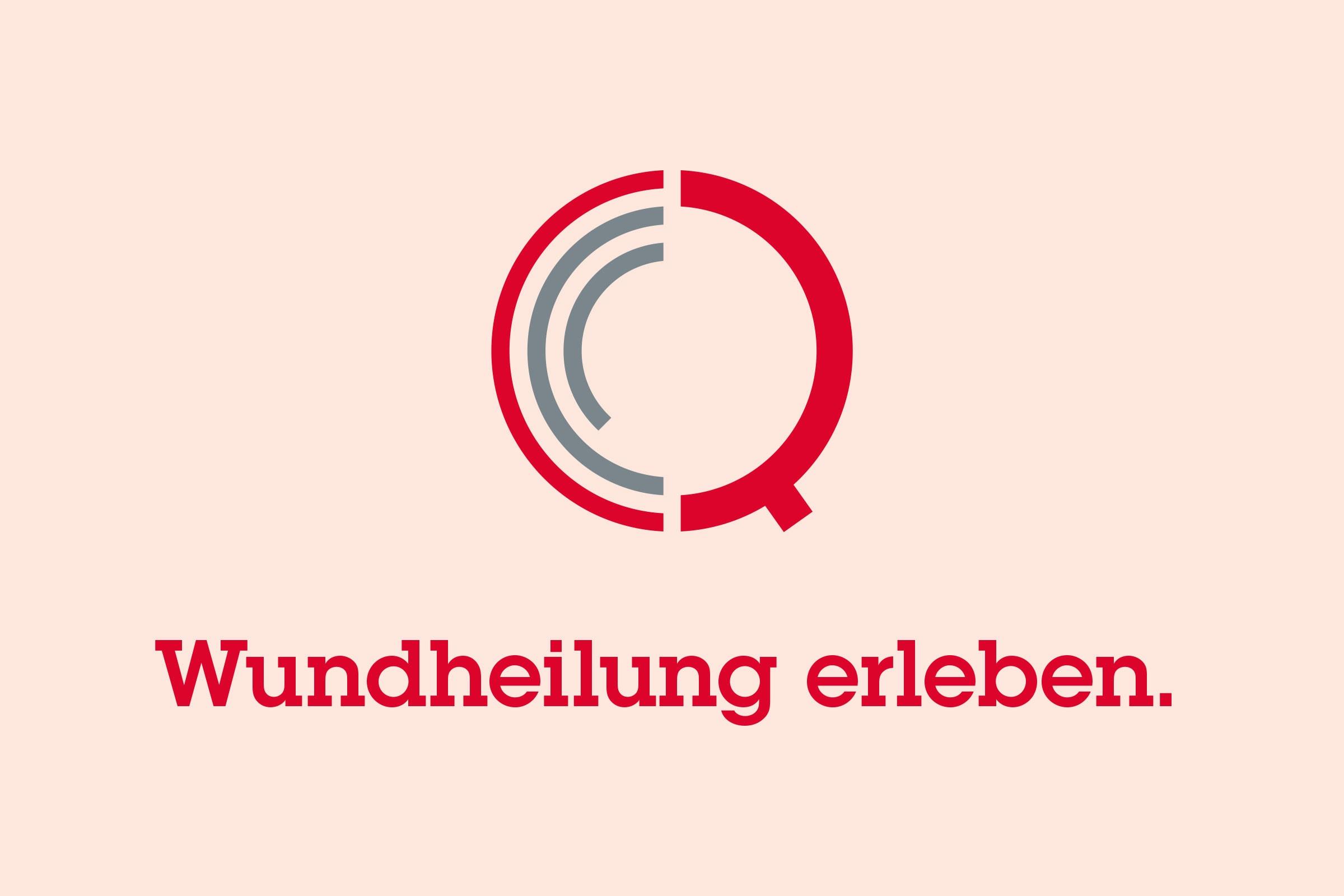 Quractiv, Claim, Logo, Wundheilung, Erleben
