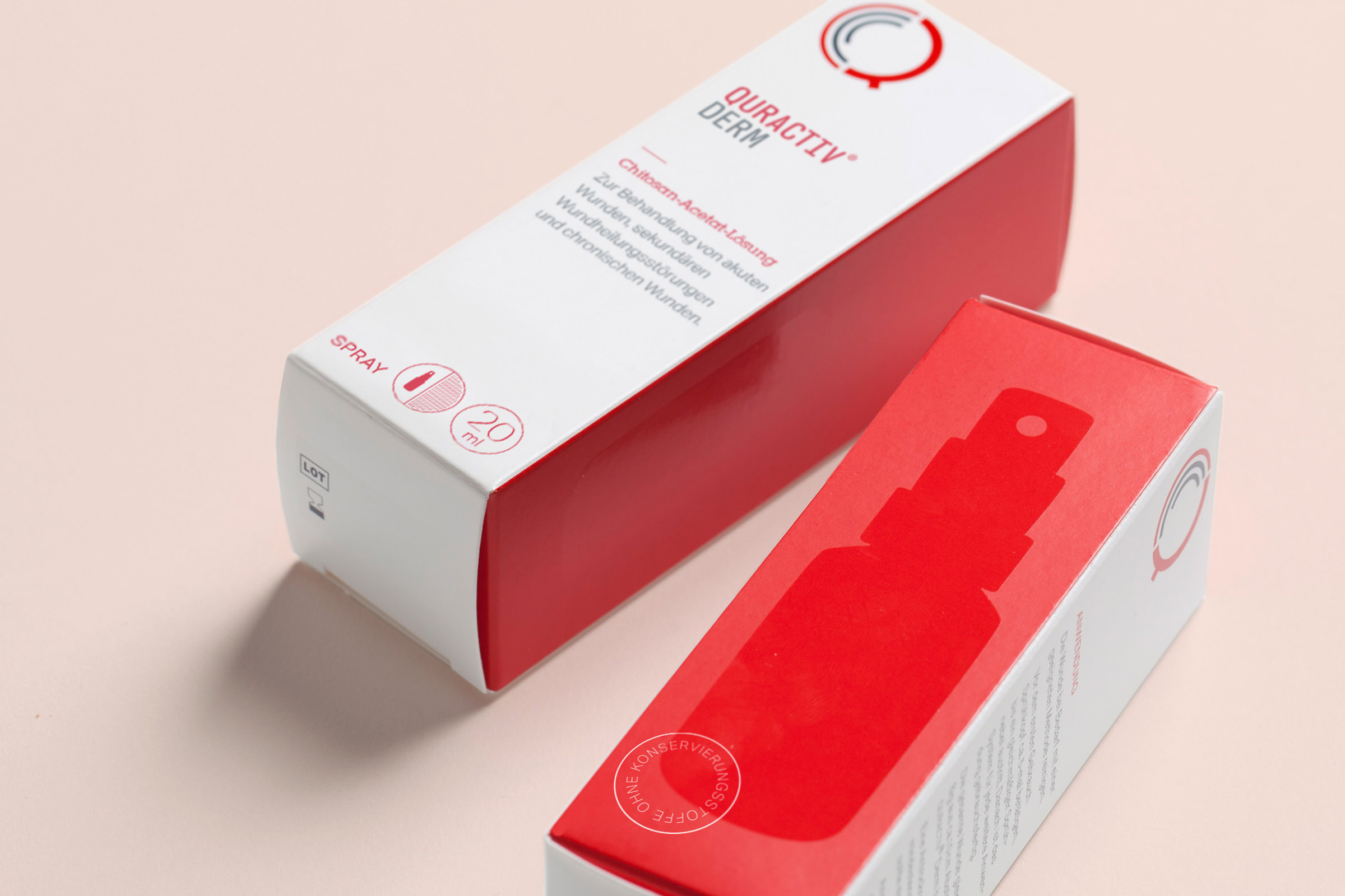 Quractiv, Packaging, Design, Pharma