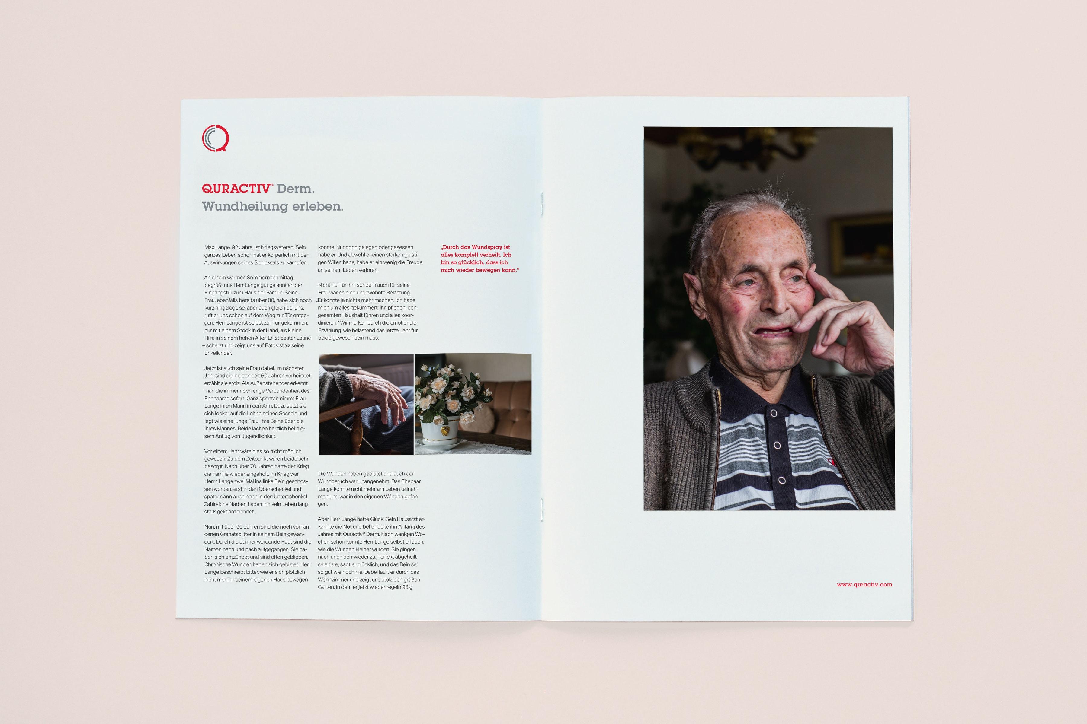 Quractiv, Corporate Design, Folder