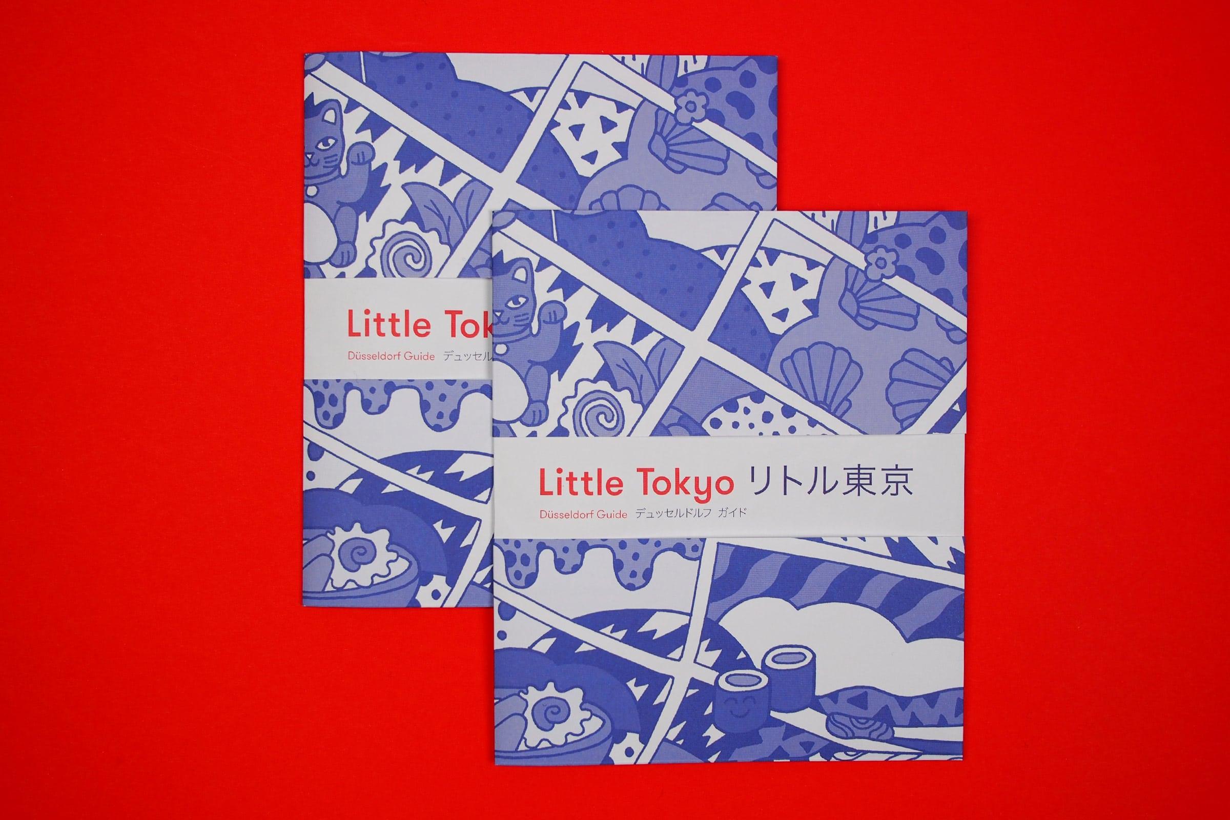 Little Tokyo, Dusseldorf, Japanviertel, Karte