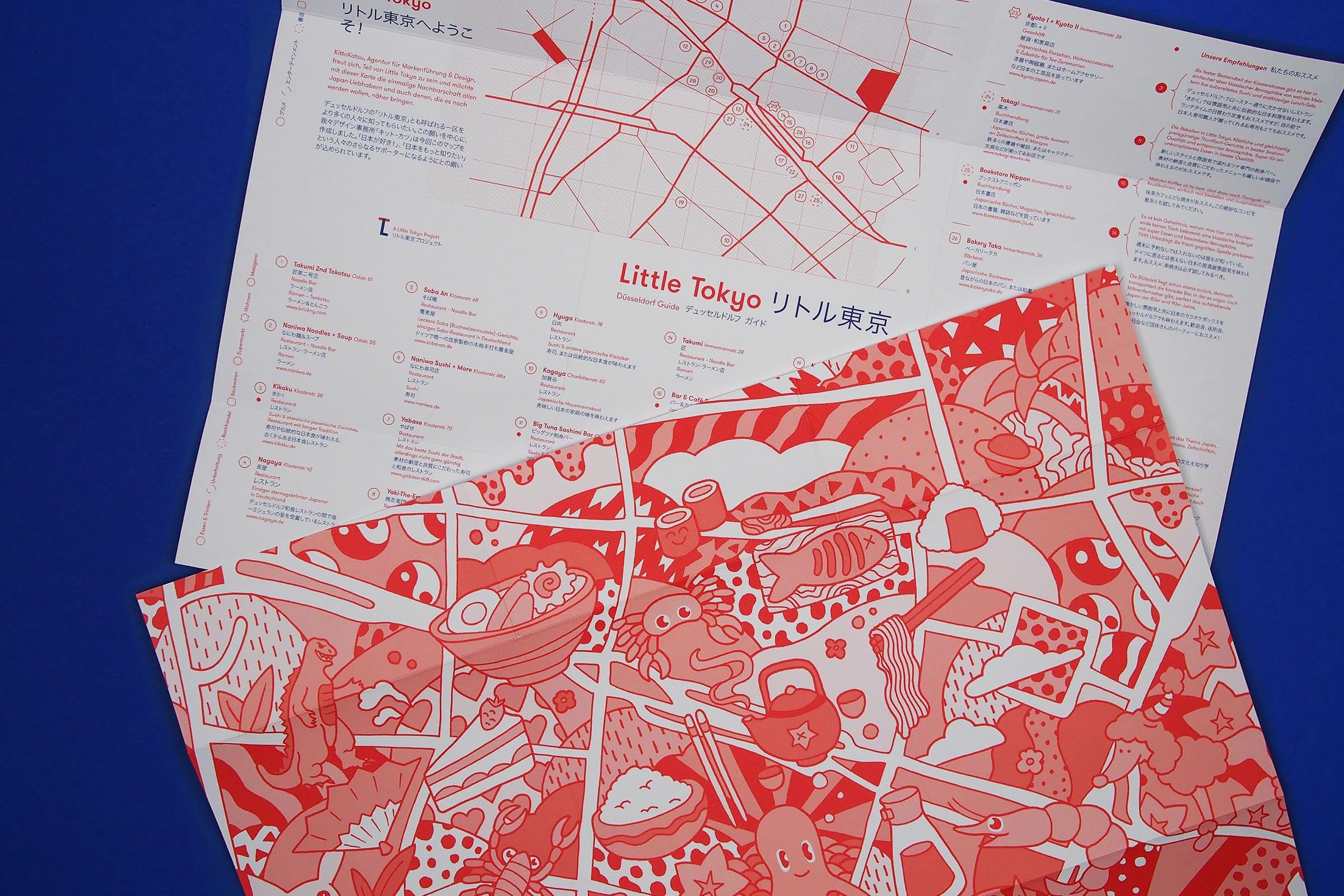 KittoKatsu, Little Tokyo Map, JapanTown, Düsseldorf