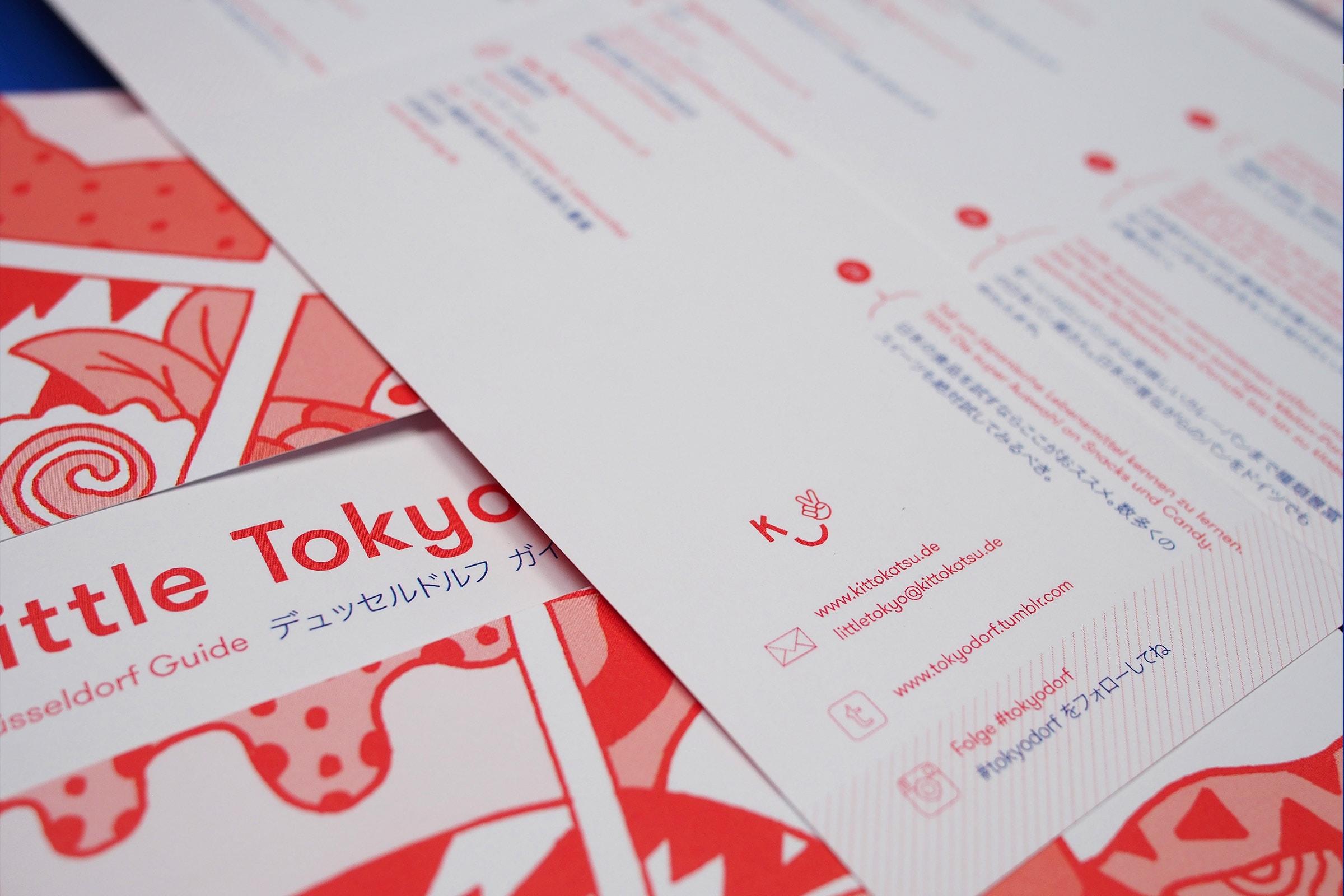 KittoKatsu, Little Tokyo Map, JapanTown, Düsseldorf, Detail