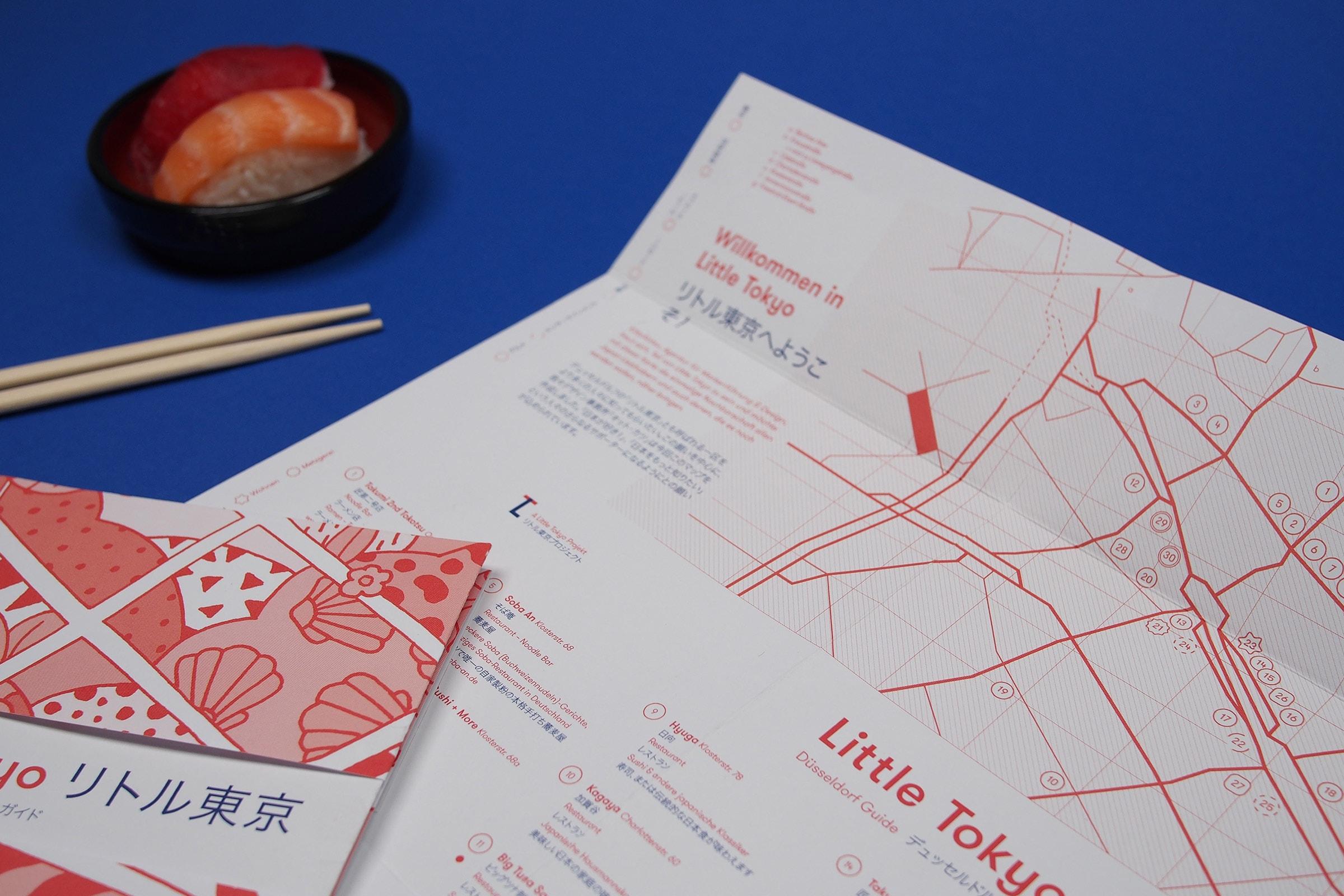 KittoKatsu, Little Tokyo Map, JapanTown, Düsseldorf, Sushi, Immermannstrasse