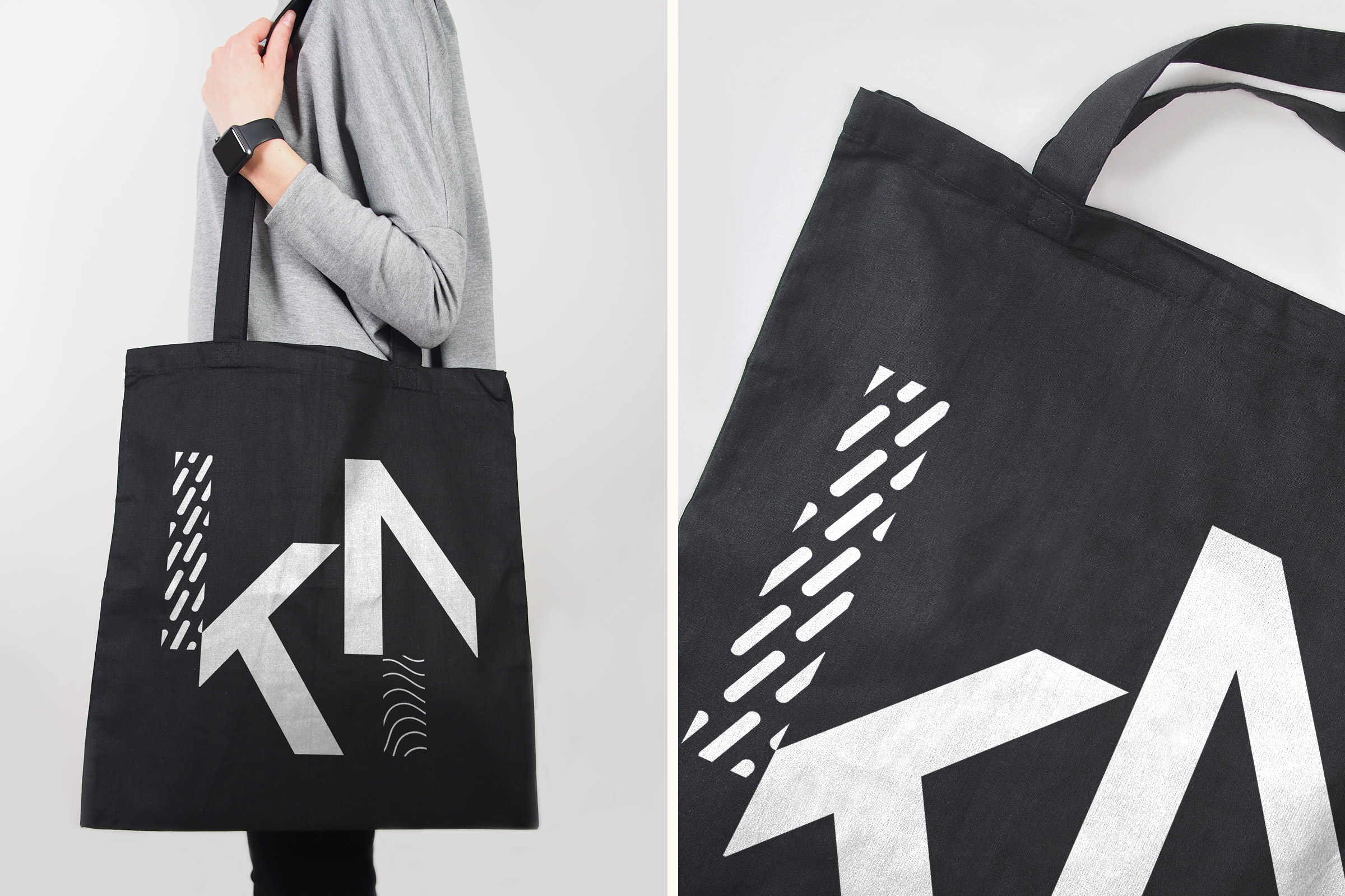 KieferNümann, Tote Bag, Corporate Design