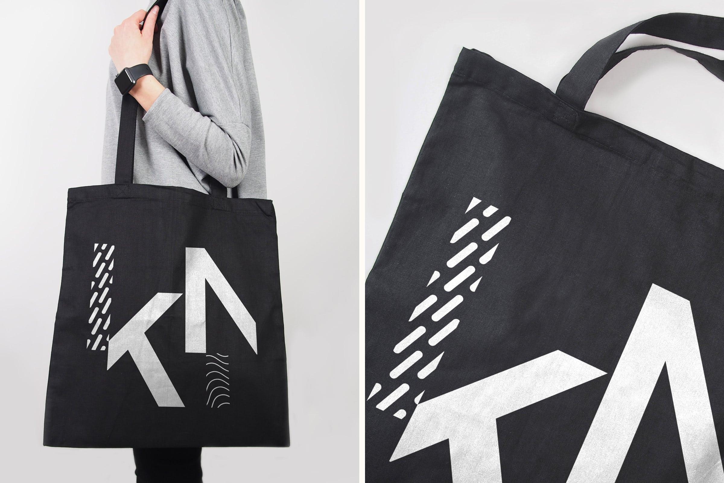 KieferNümann, Tote Bag, Corporate Design