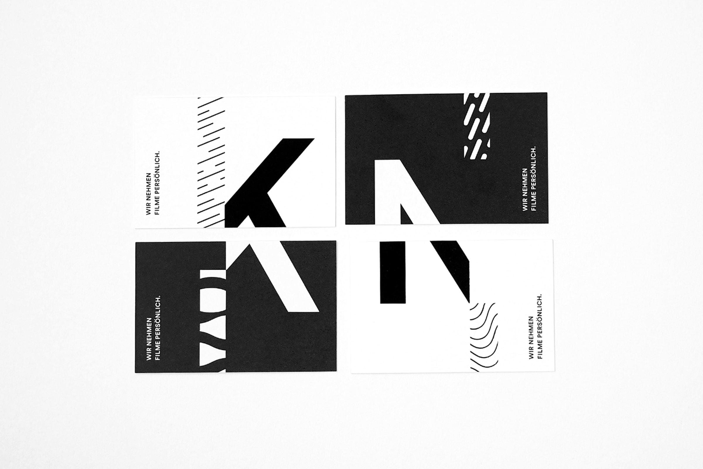 KieferNümann, Visitenkarten, Corporate Design