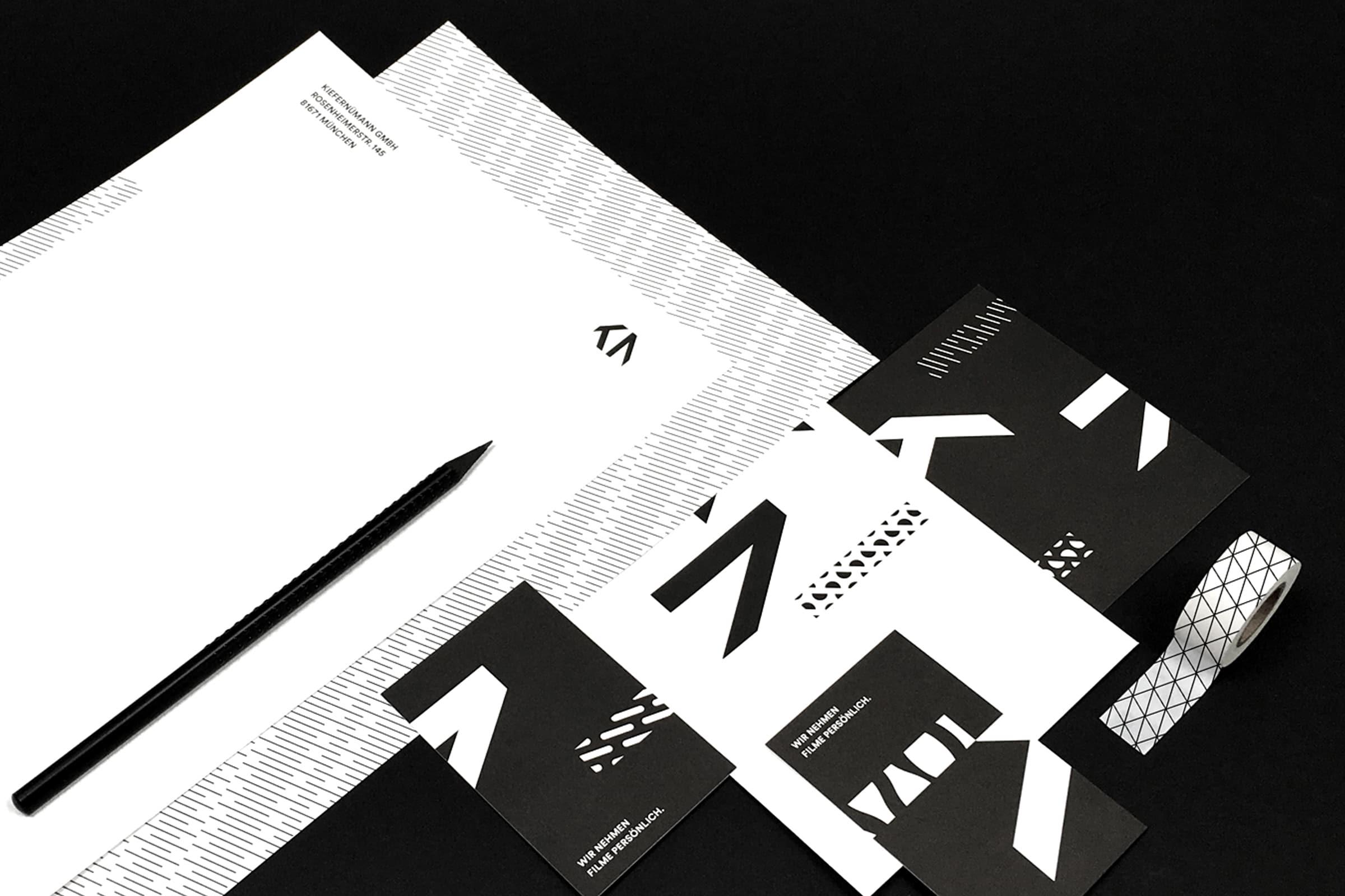 KieferNümann, Geschäftsausstattung, Corporate Design