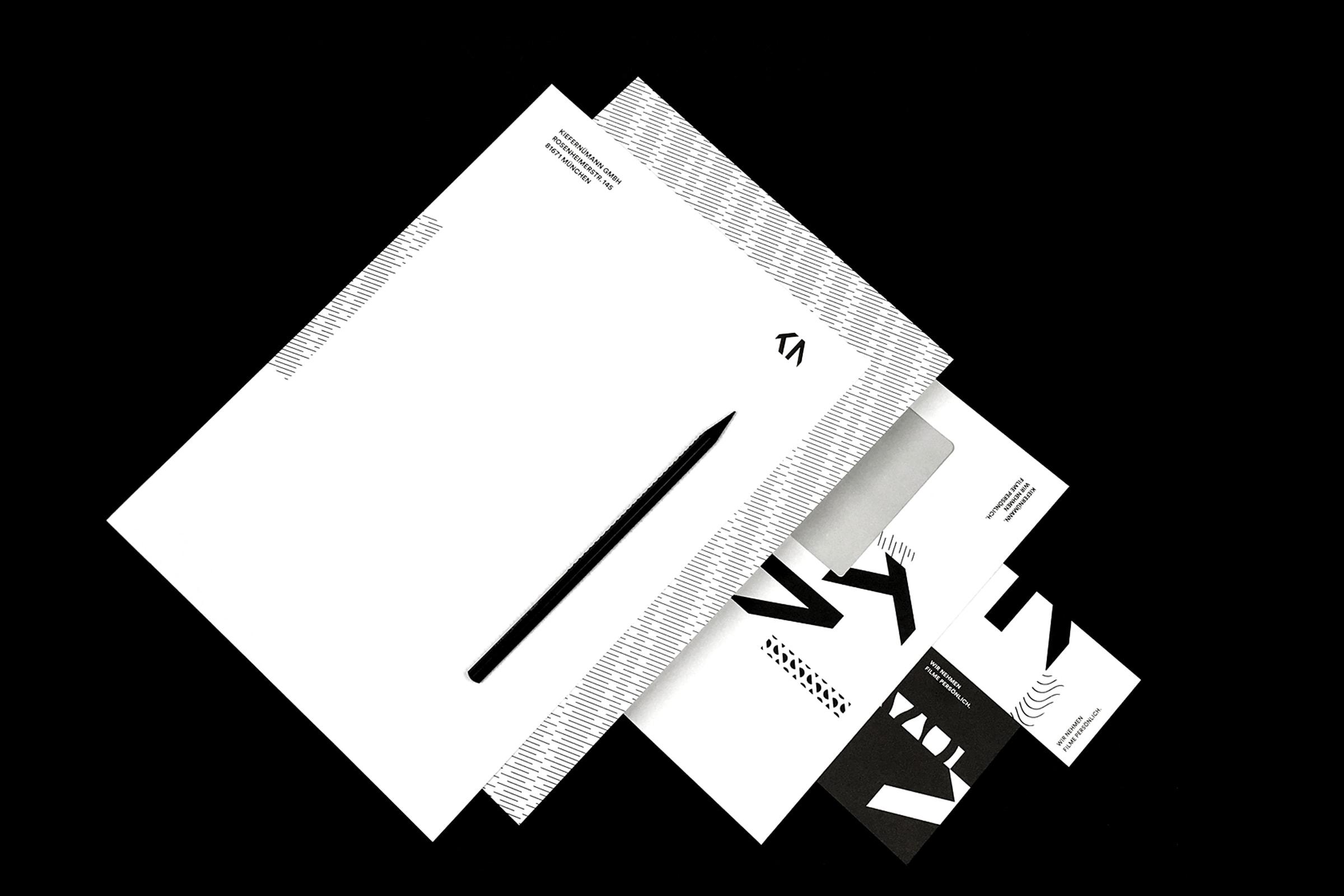 KieferNümann, Geschäftsausstattung, Corporate Identity