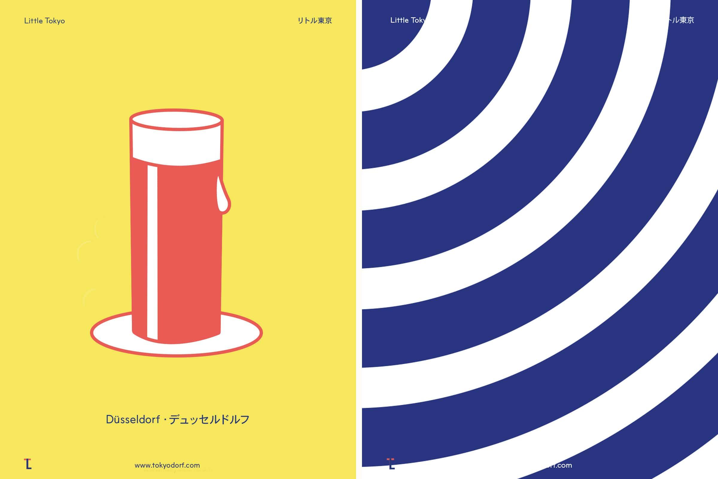 Alt Bier, Little Tokyo, Muster