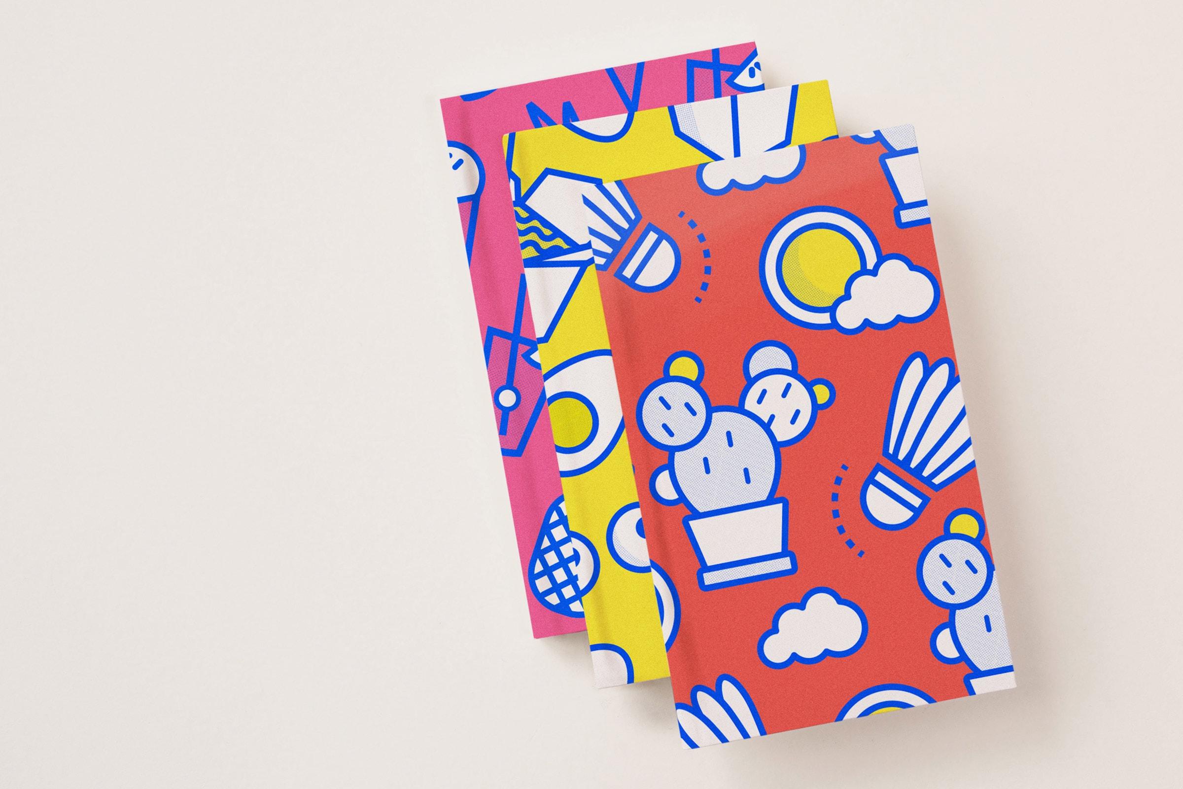 Notizbuch, KittoKatsu Playground, Illustration, Kaktus