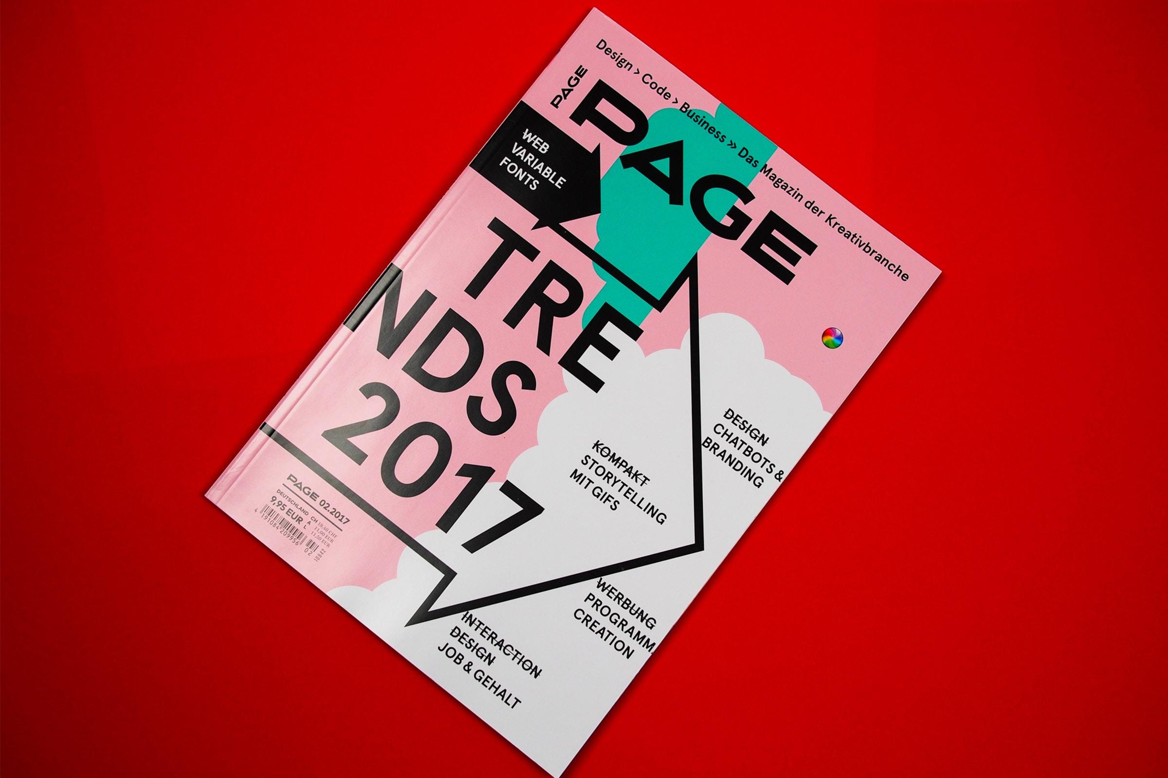 Page, Presse, Designzeitung, Suupaa Sticker