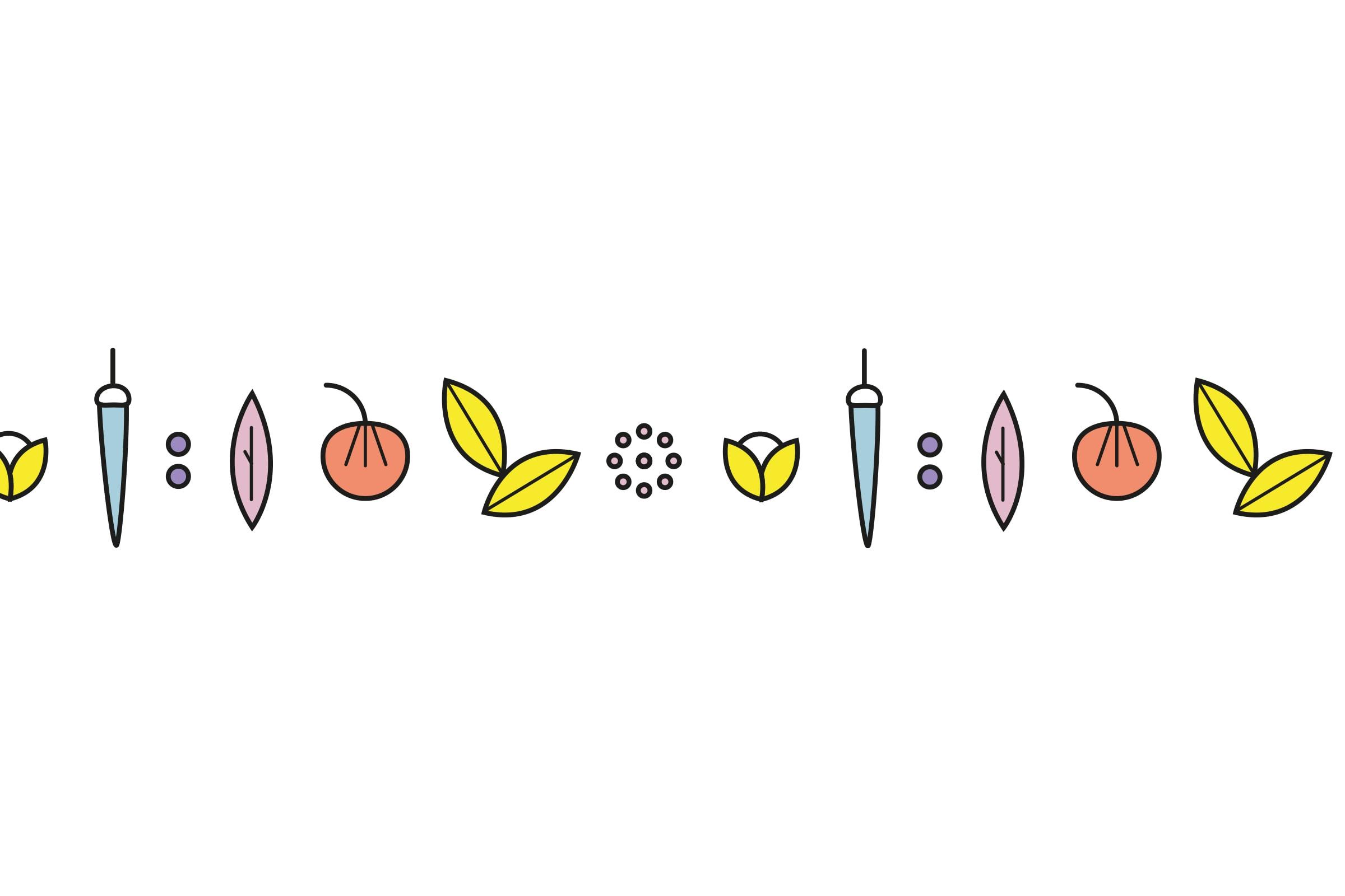 Illustration, Ornamente, Food, Gewürze