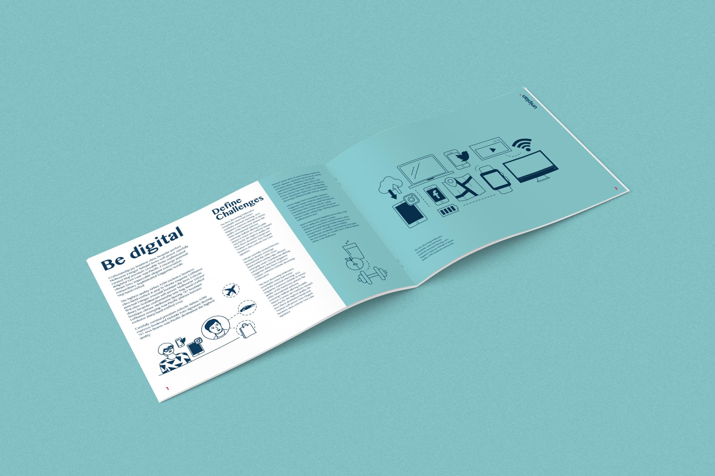 Uniplan, Broschüre, Live Kommunikation, Illustration, Köln, Inszenierung, Marke