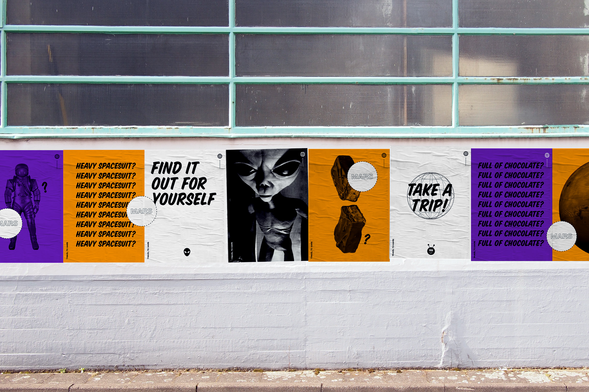 Poster, Marsianer, ICON, Rethink