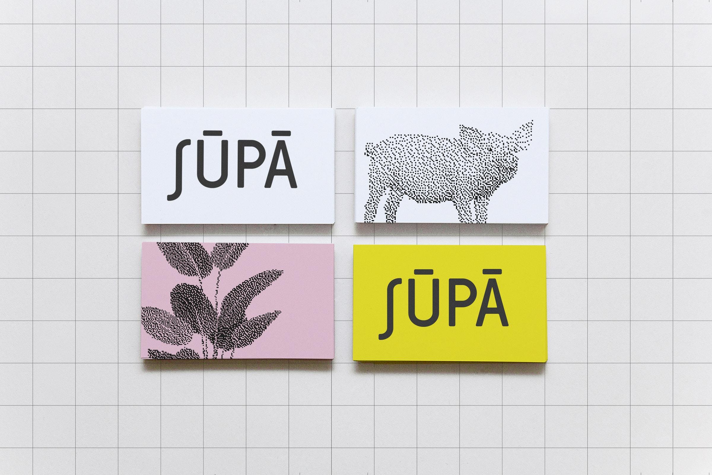 Visitenkarten, Design, Identity, Farbe, Restaurant