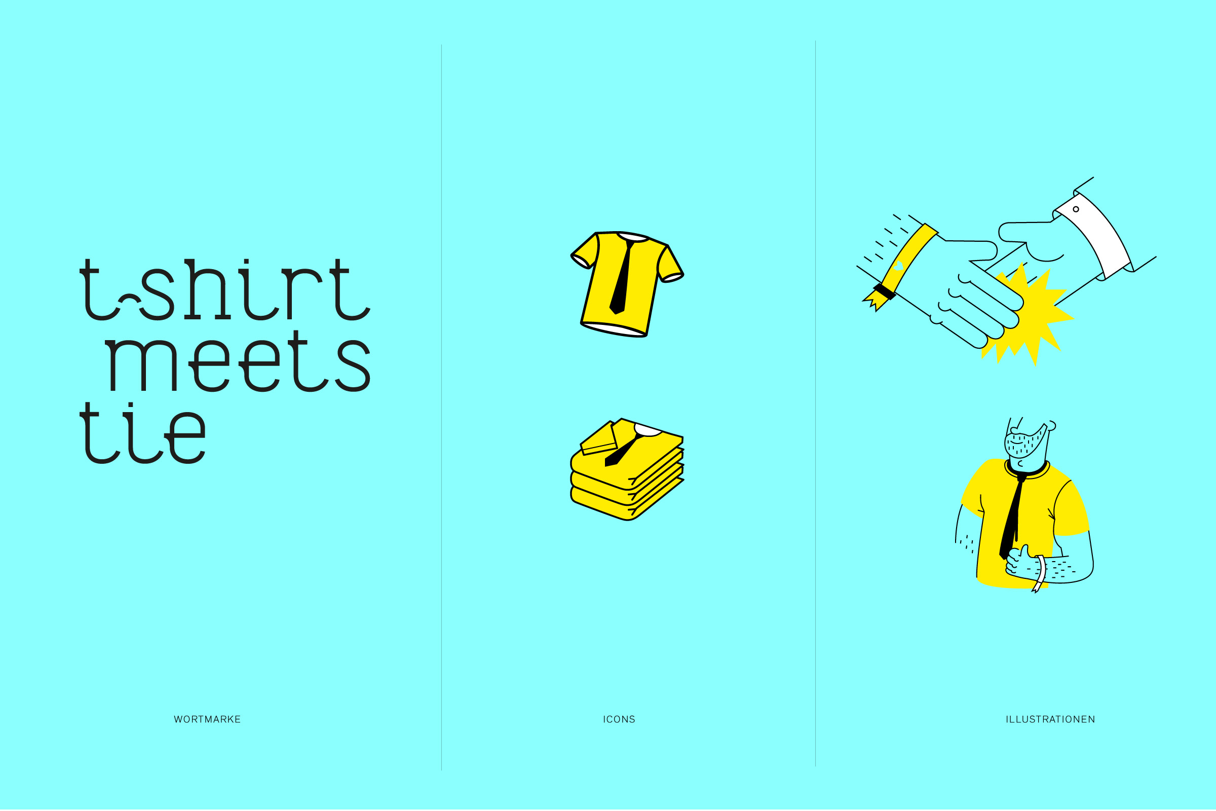 Corporate Design, Icons, Illustration, Wortmarke, Logo