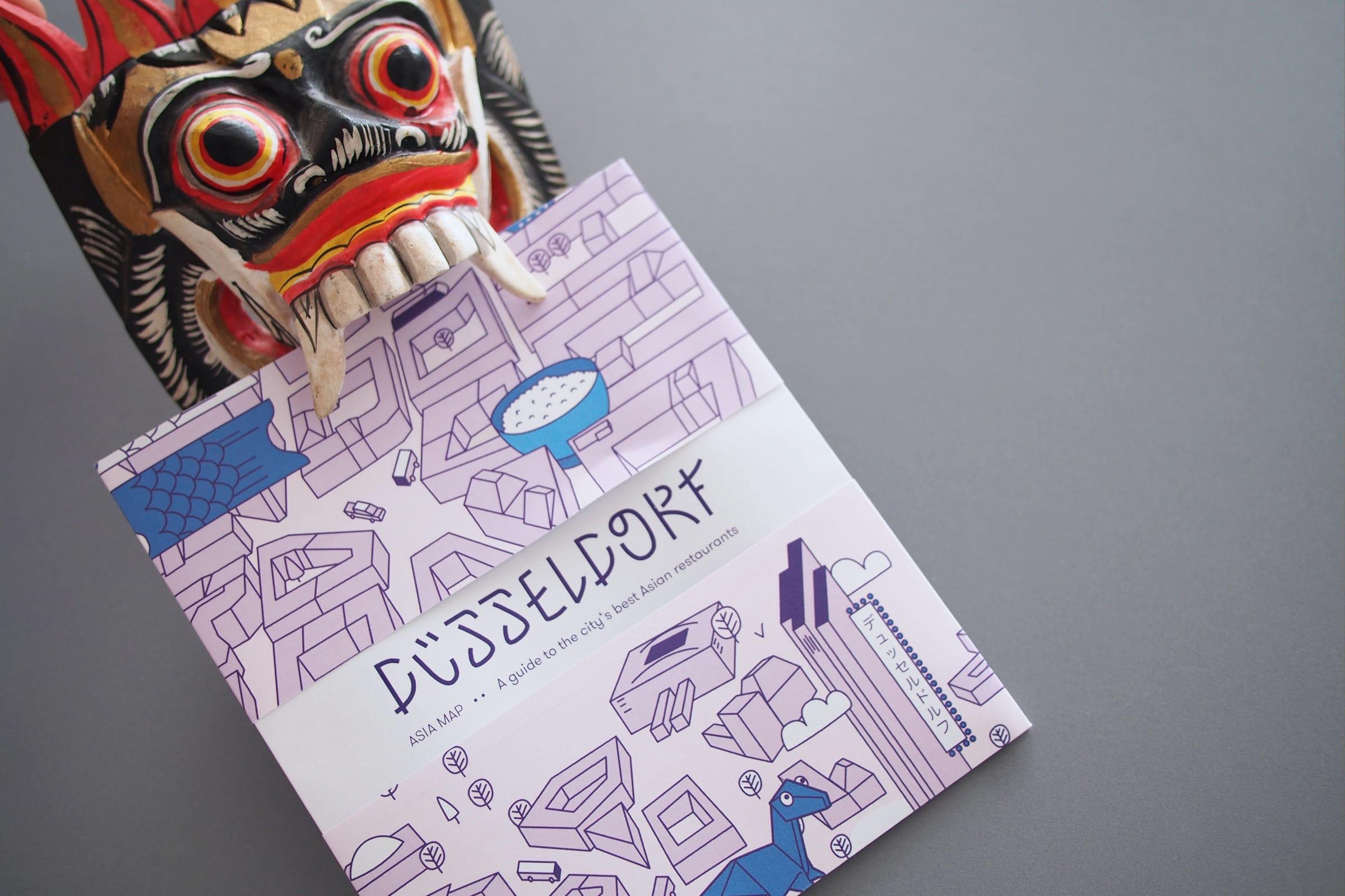 The Dorf, Asia Restaurants, Guide, essen, Düsseldorf, Druck, Faltung