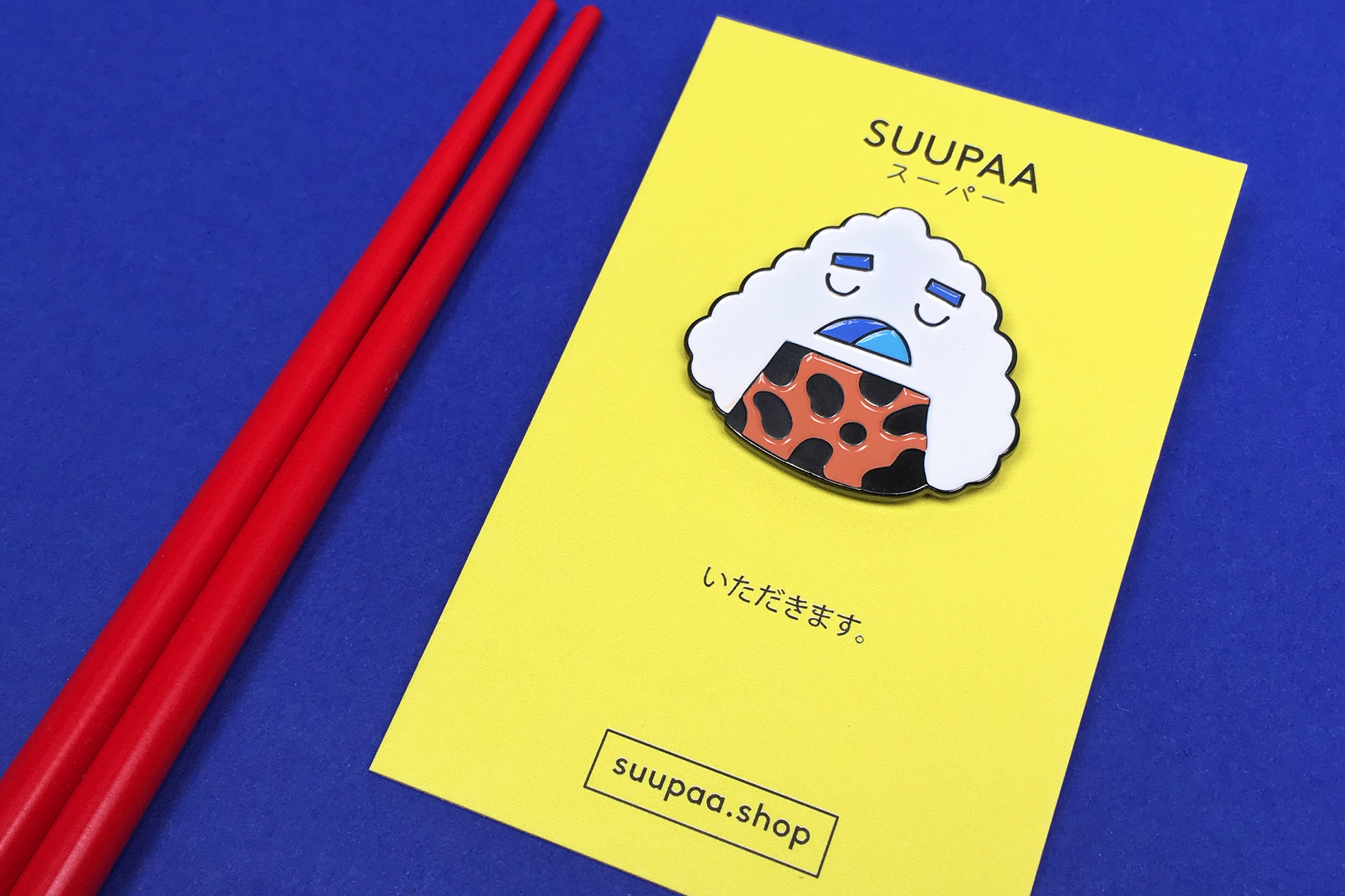 SUUPAA shop, Couch Magazin, Pin, Nigiri, kawaii, Japan