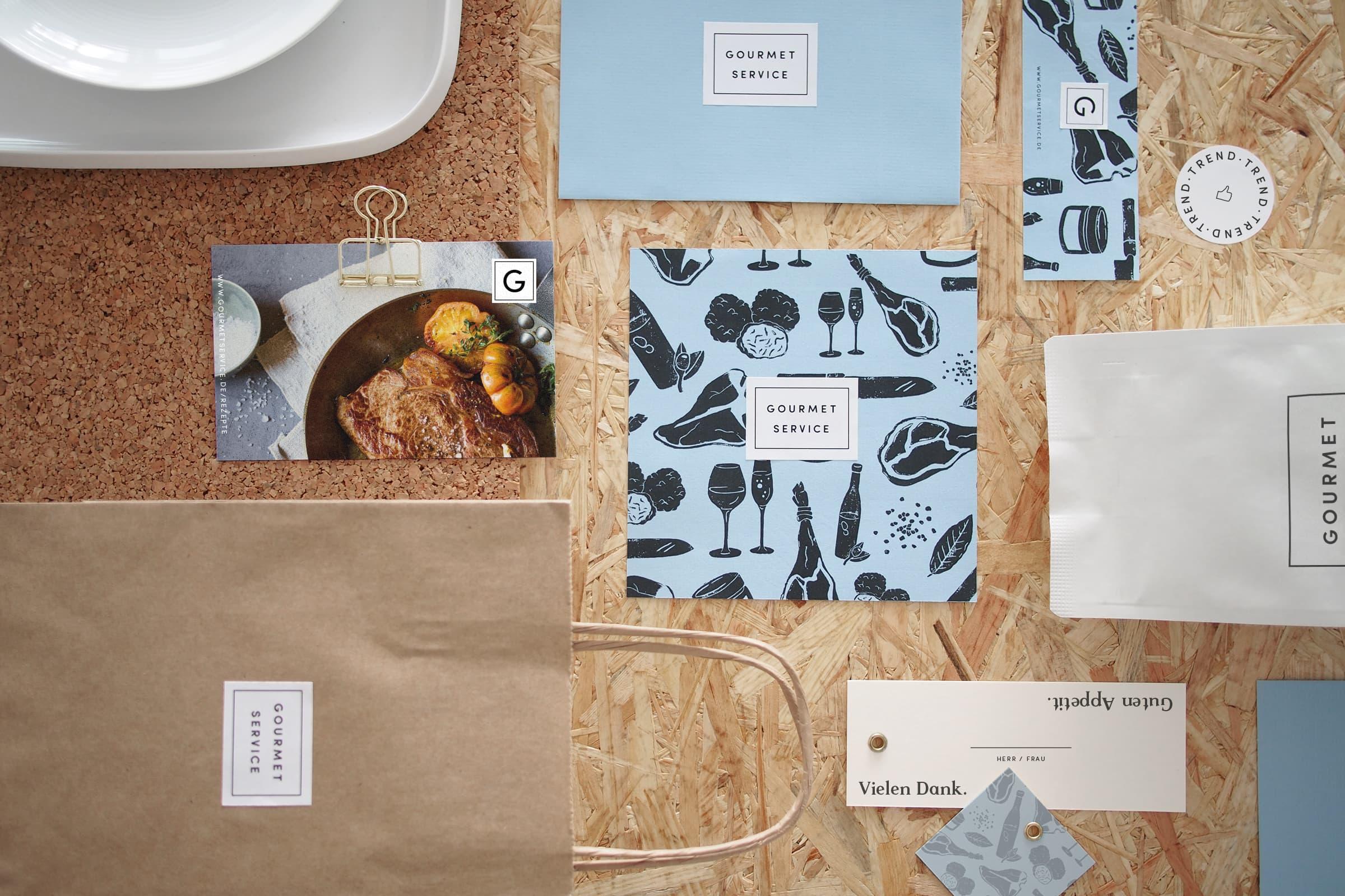 Corporate Design, Packaging Design, Lebensmittel, Supermarkt, Gourmet, Feinkost, Design, Logo