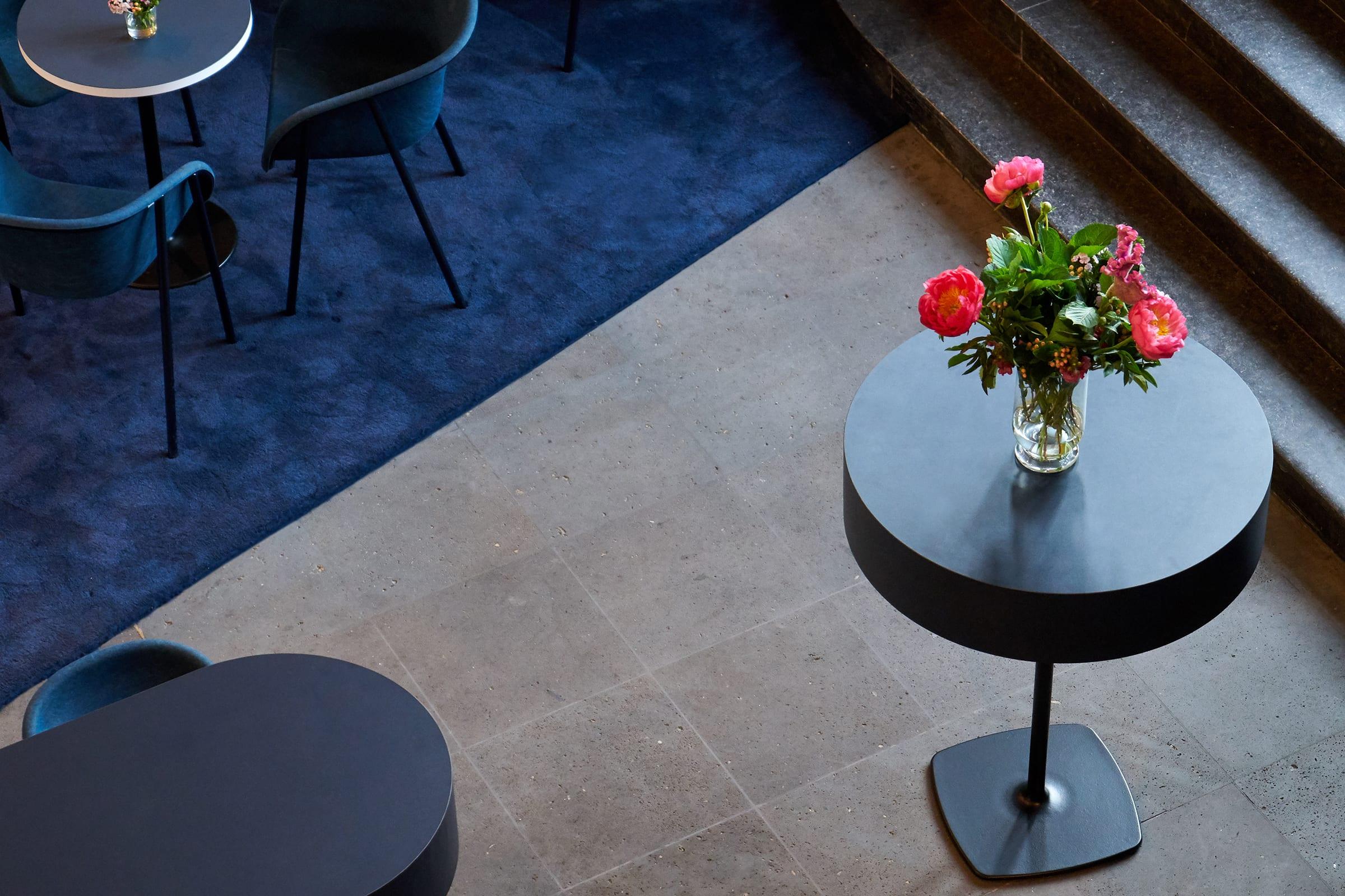 NRW Forum, Düsseldorf, PONG NRW, Interior Design, Studio Mo, Restaurant Branding, Identity Design
