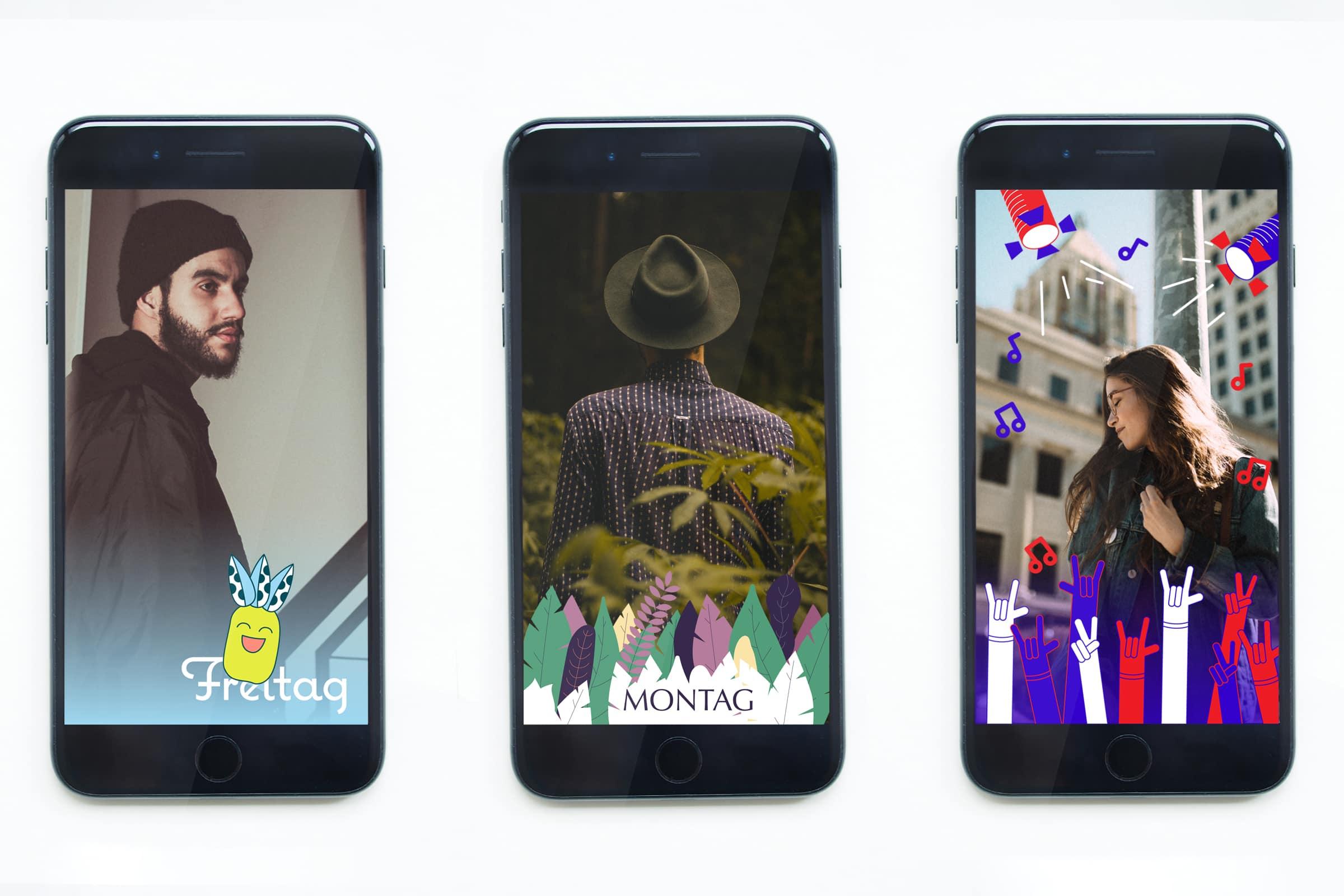 Snapchat, illustration, geofilter, app