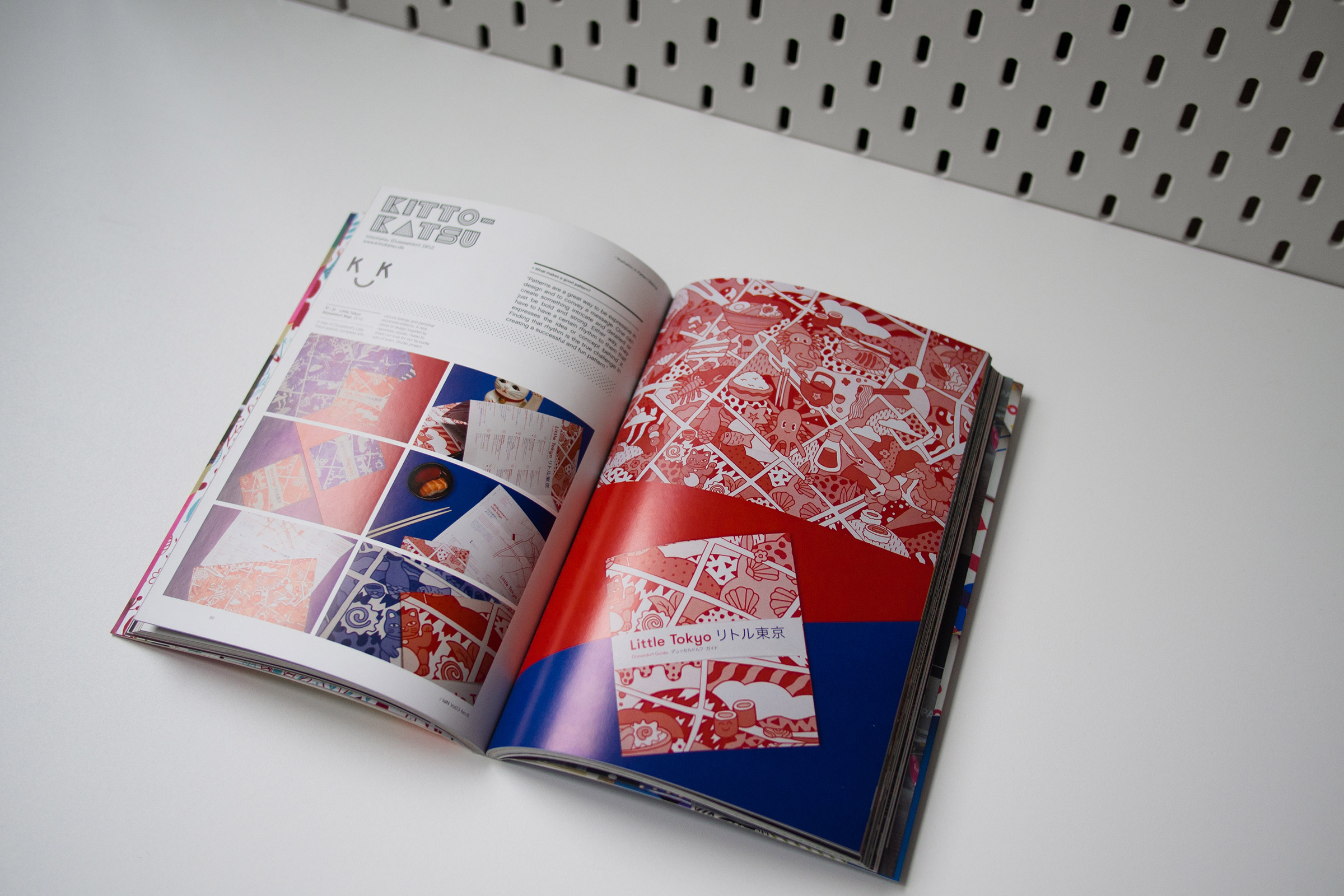 Presse, Publikation, Magazin, IdN Magazin, Pattern, Illustration, Little Tokyo