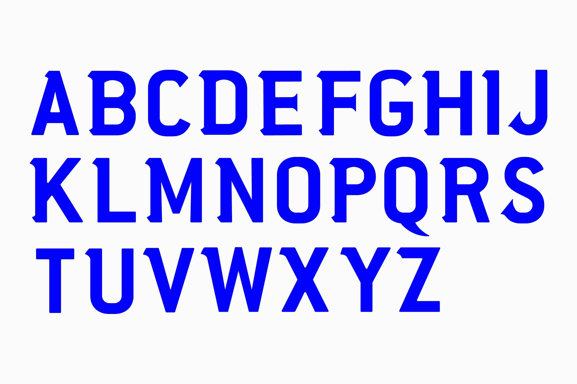 Type Design, Fussball, Schrift Design, Serifen, Alphabet