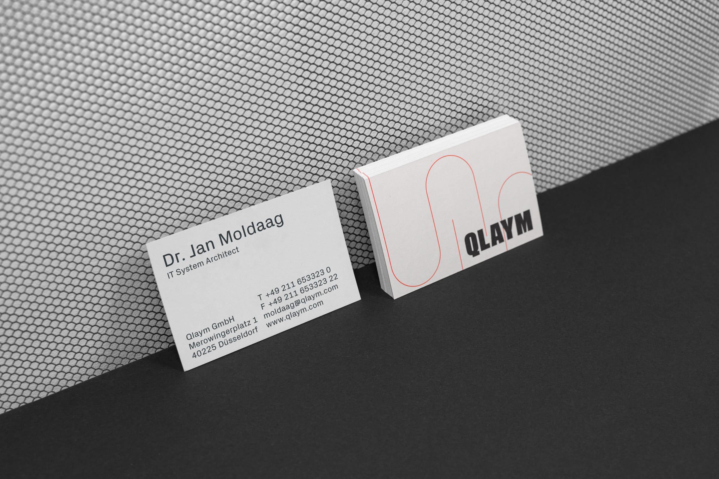 Visitenkarten, Identity Design, Branding, Px Grotesk,