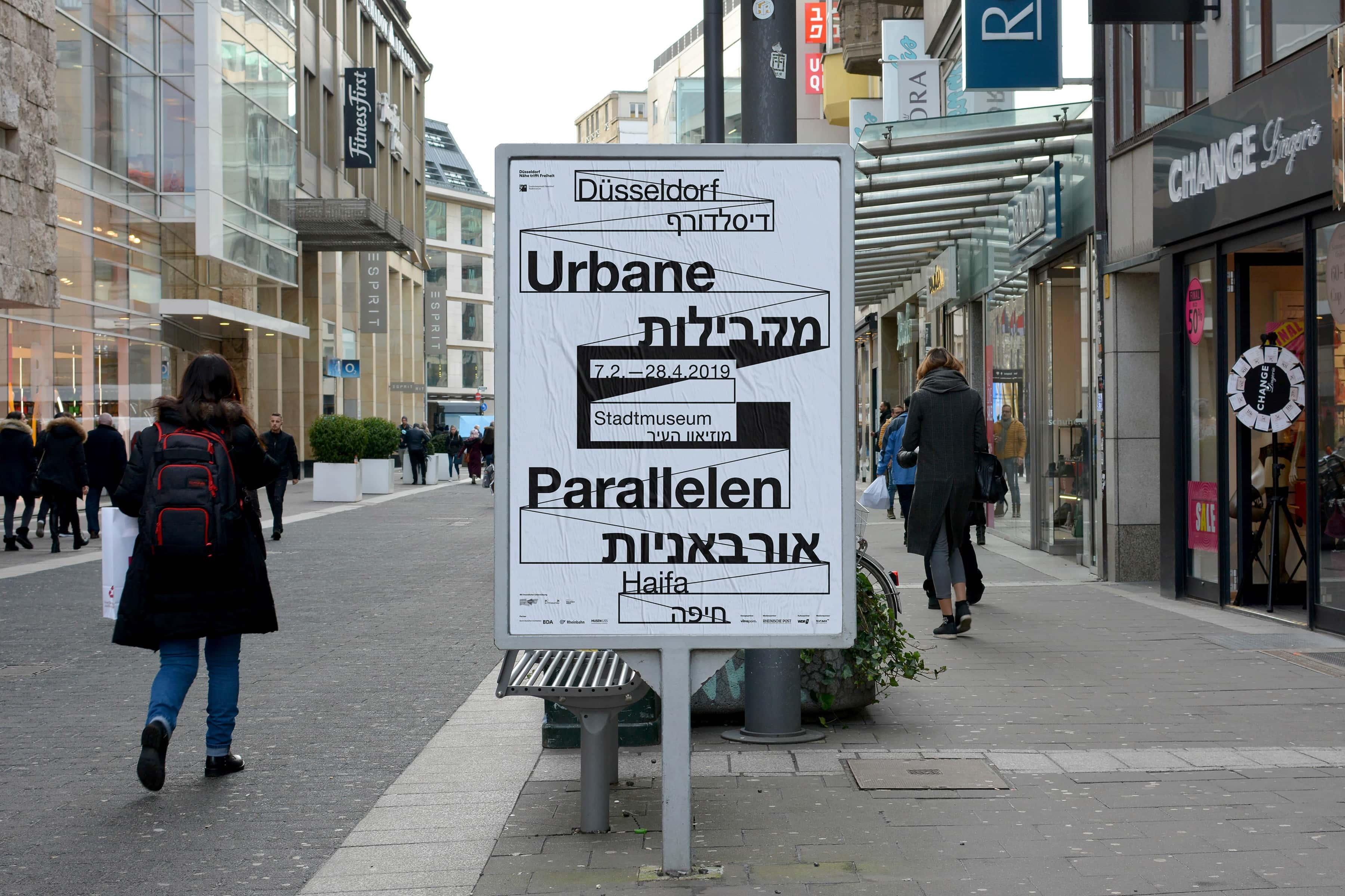 Düsseldorf, Stadtmuseum, Ausstellungsdesign, Poster, Grafik