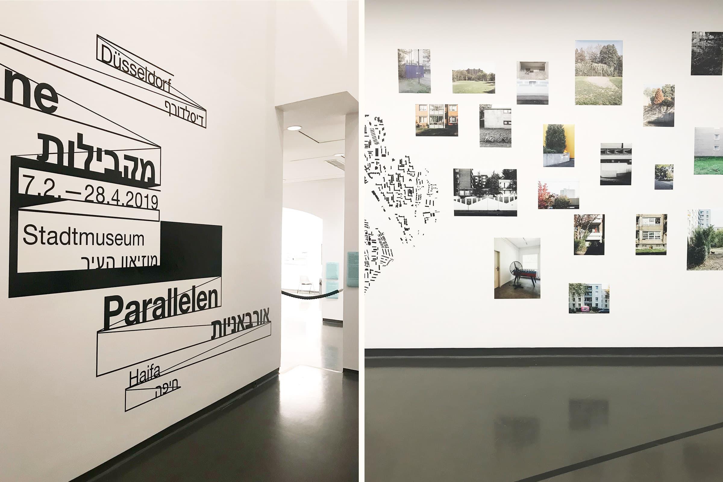 Düsseldorf, Stadtmuseum, Ausstellungsdesign, Grafik, Plottgrafik, Ausstellungsdisplay