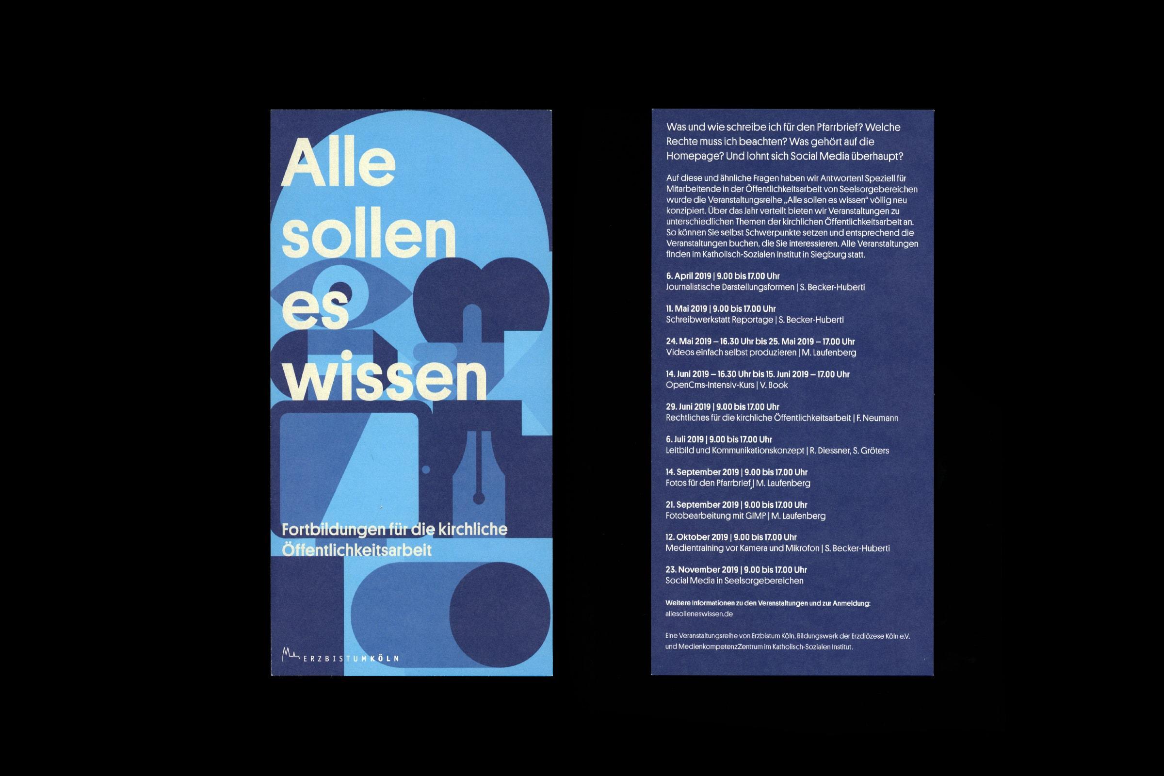 Erzbistum, Identity, Katholische Kirche, Poster, Köln, Cologne, Design